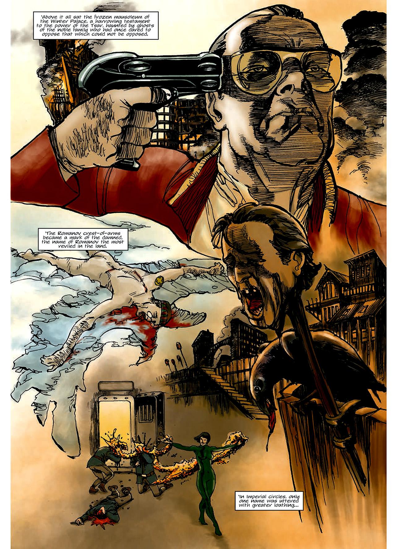 Read online Nikolai Dante comic -  Issue # TPB 6 - 9