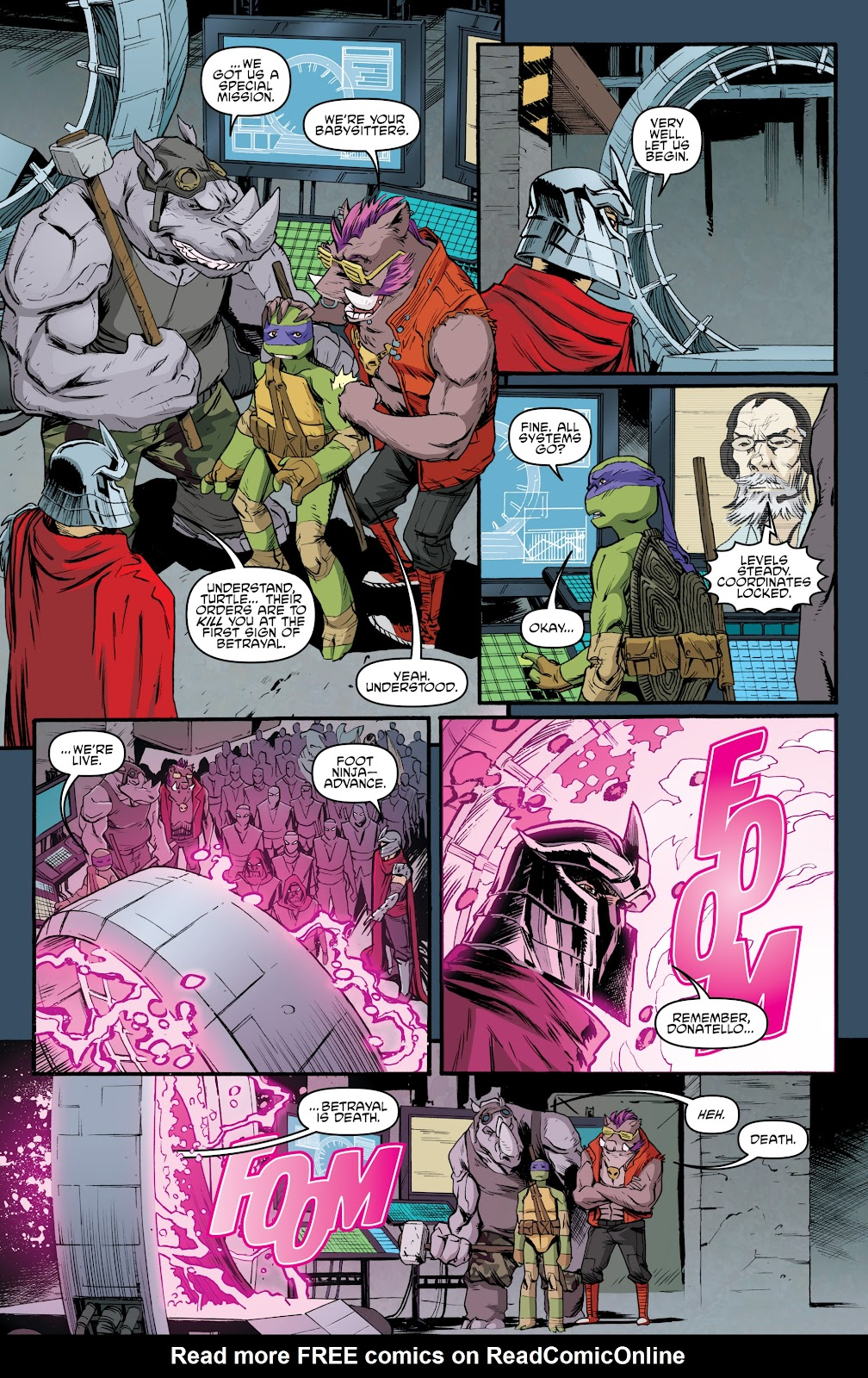 Read online Teenage Mutant Ninja Turtles: The IDW Collection comic -  Issue # TPB 5 (Part 3) - 98