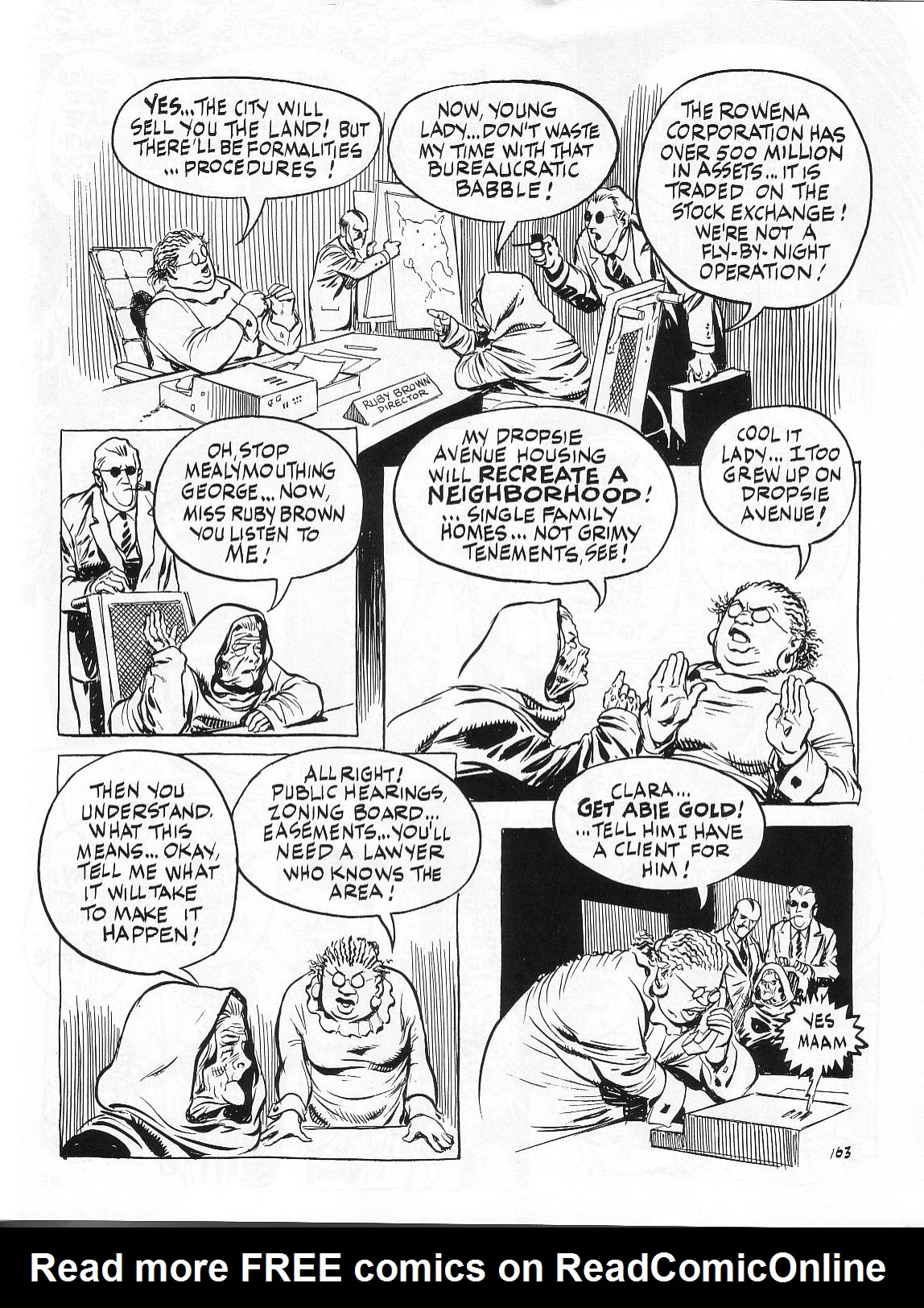 Read online Dropsie Avenue, The Neighborhood comic -  Issue # Full - 165