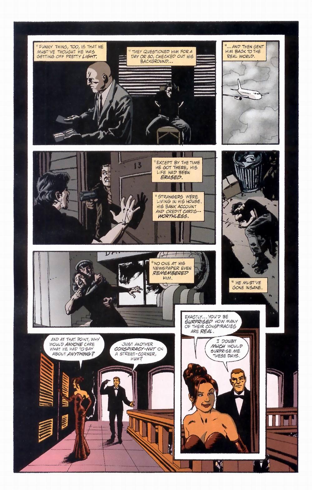 Read online Sleeper comic -  Issue #4 - 11