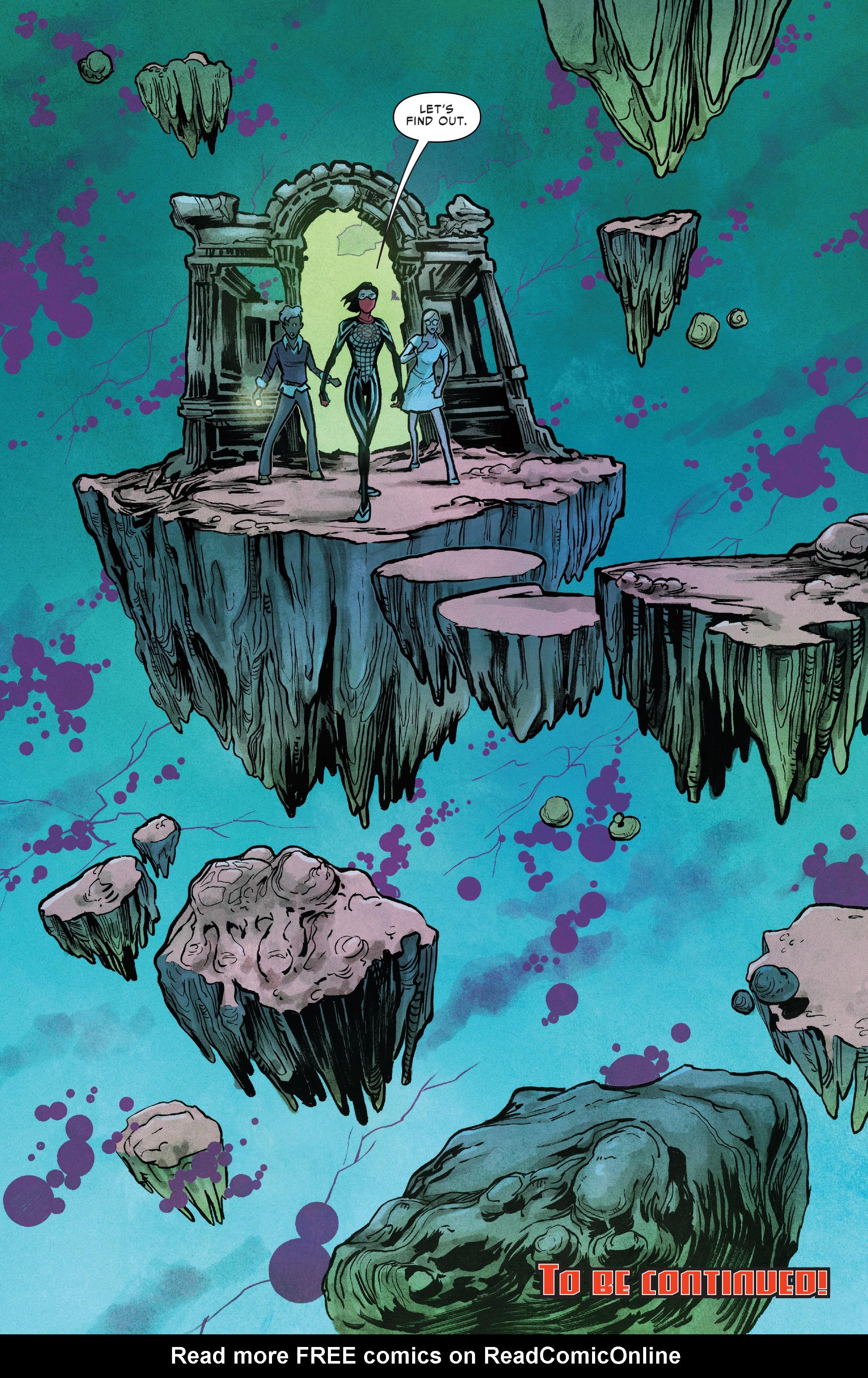 Read online Silk (2016) comic -  Issue #11 - 22