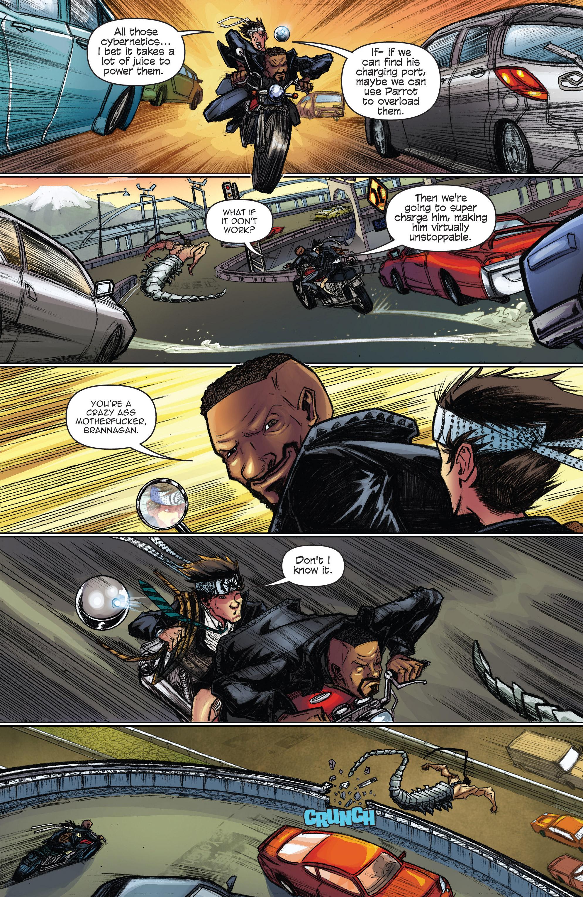 Read online Infinite Seven comic -  Issue #3 - 21