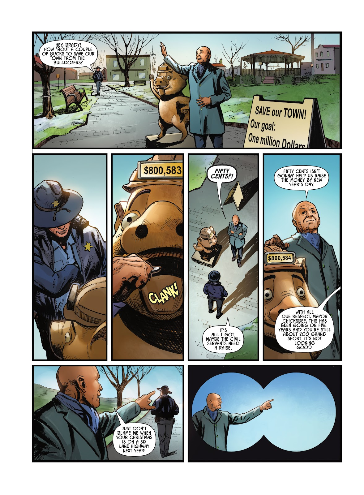 Savage Circus issue 1 - Page 12