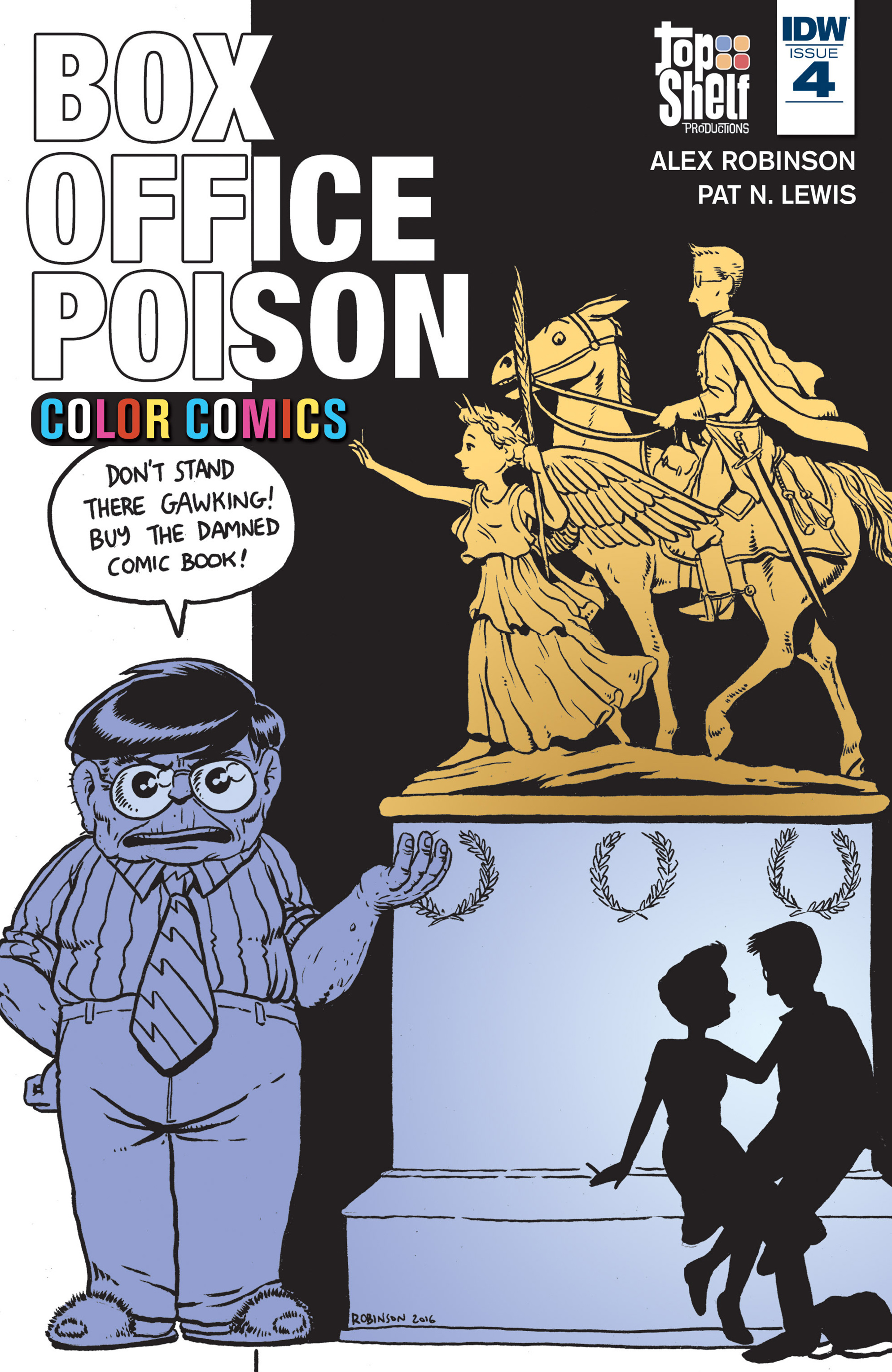 Read online Box Office Poison Color Comics comic -  Issue #4 - 1