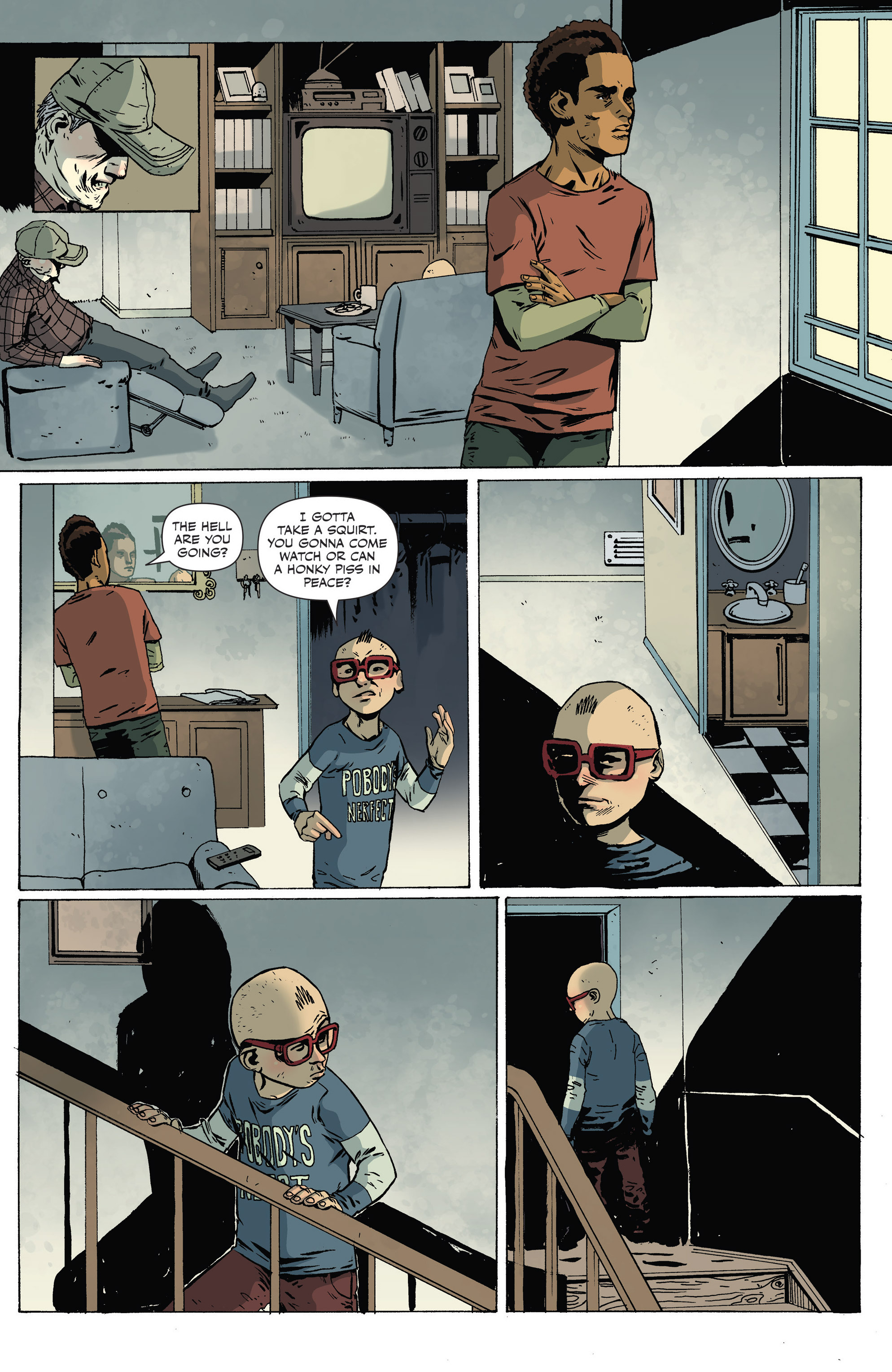 Read online Sheltered comic -  Issue #8 - 21