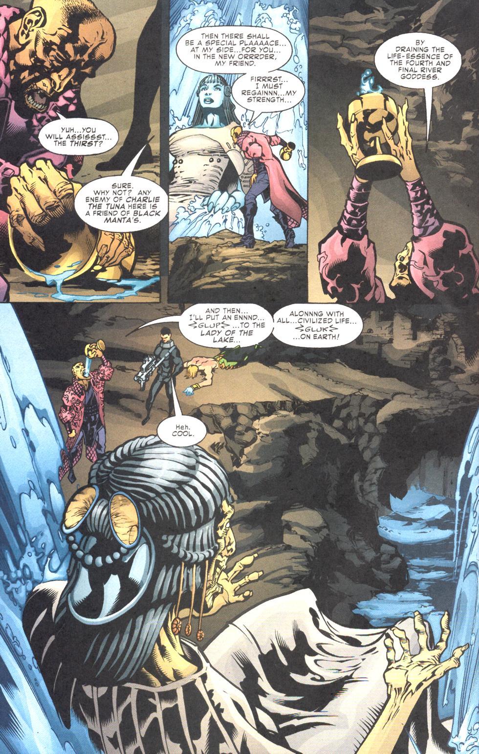 Read online Aquaman (2003) comic -  Issue #11 - 19
