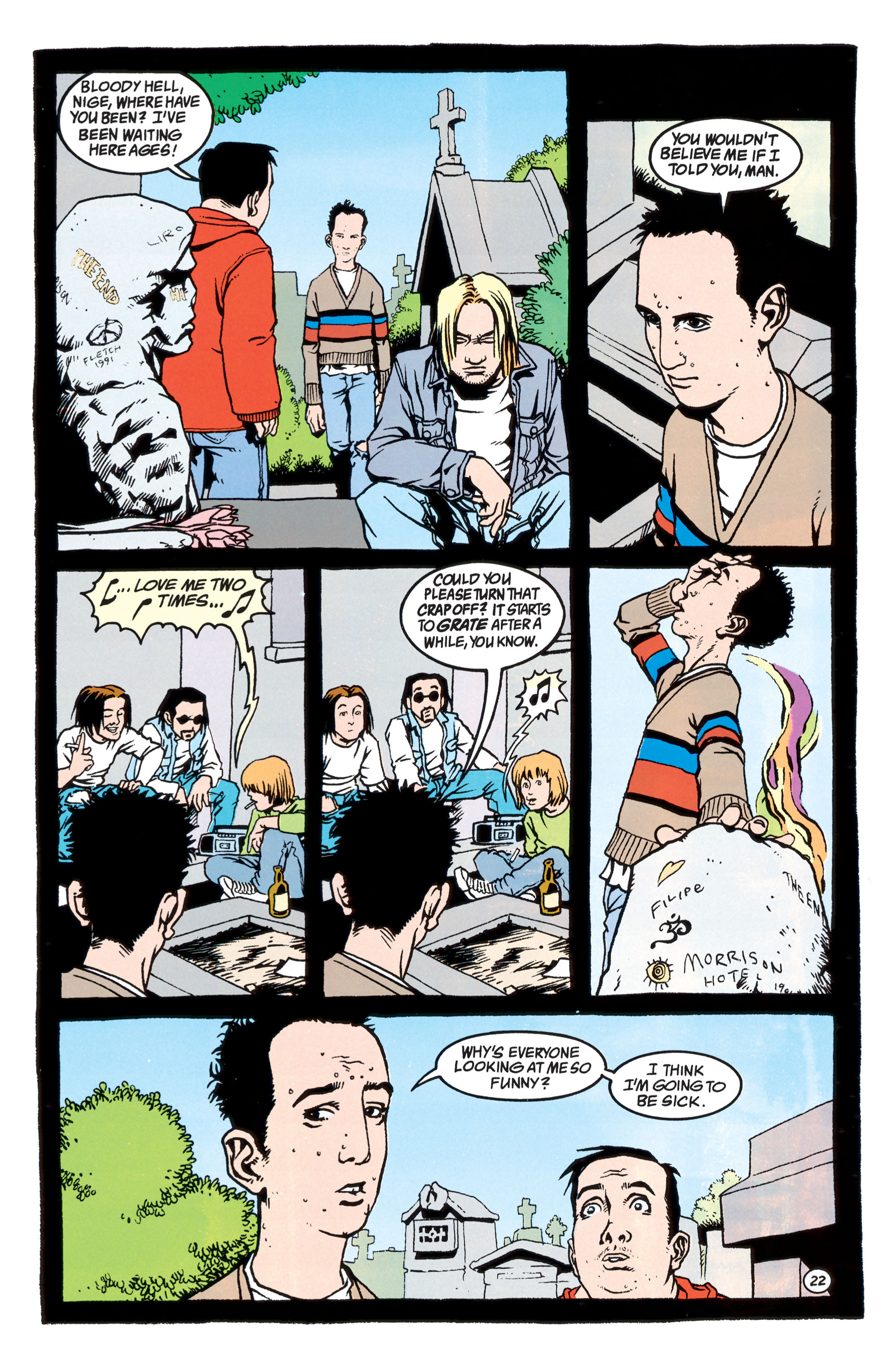 Read online Shade, the Changing Man comic -  Issue #40 - 23