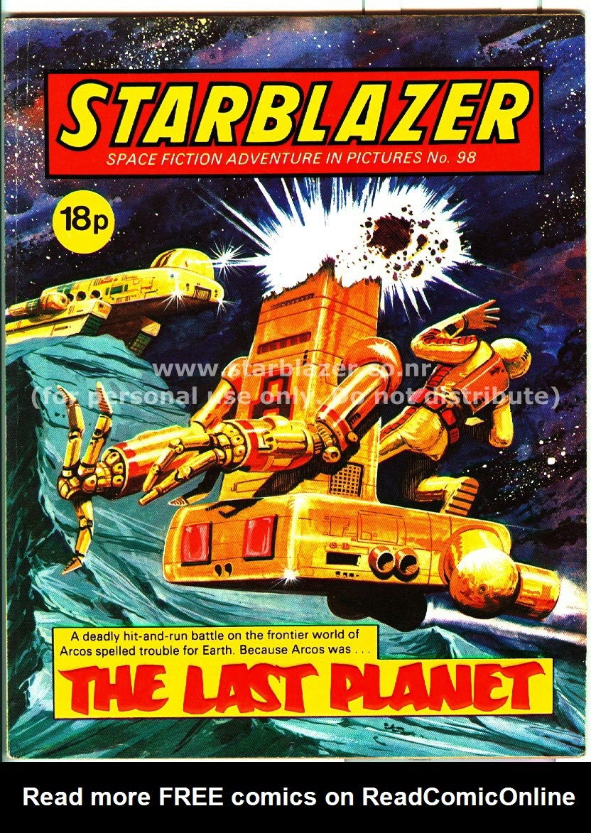 Starblazer issue 98 - Page 1