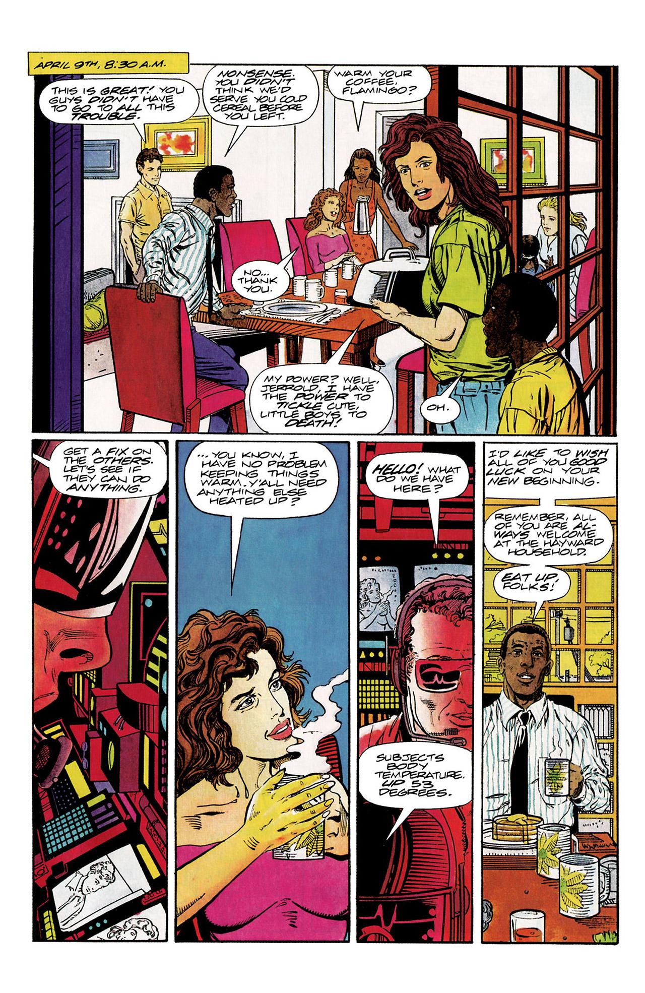 Read online Harbinger (1992) comic -  Issue #10 - 6