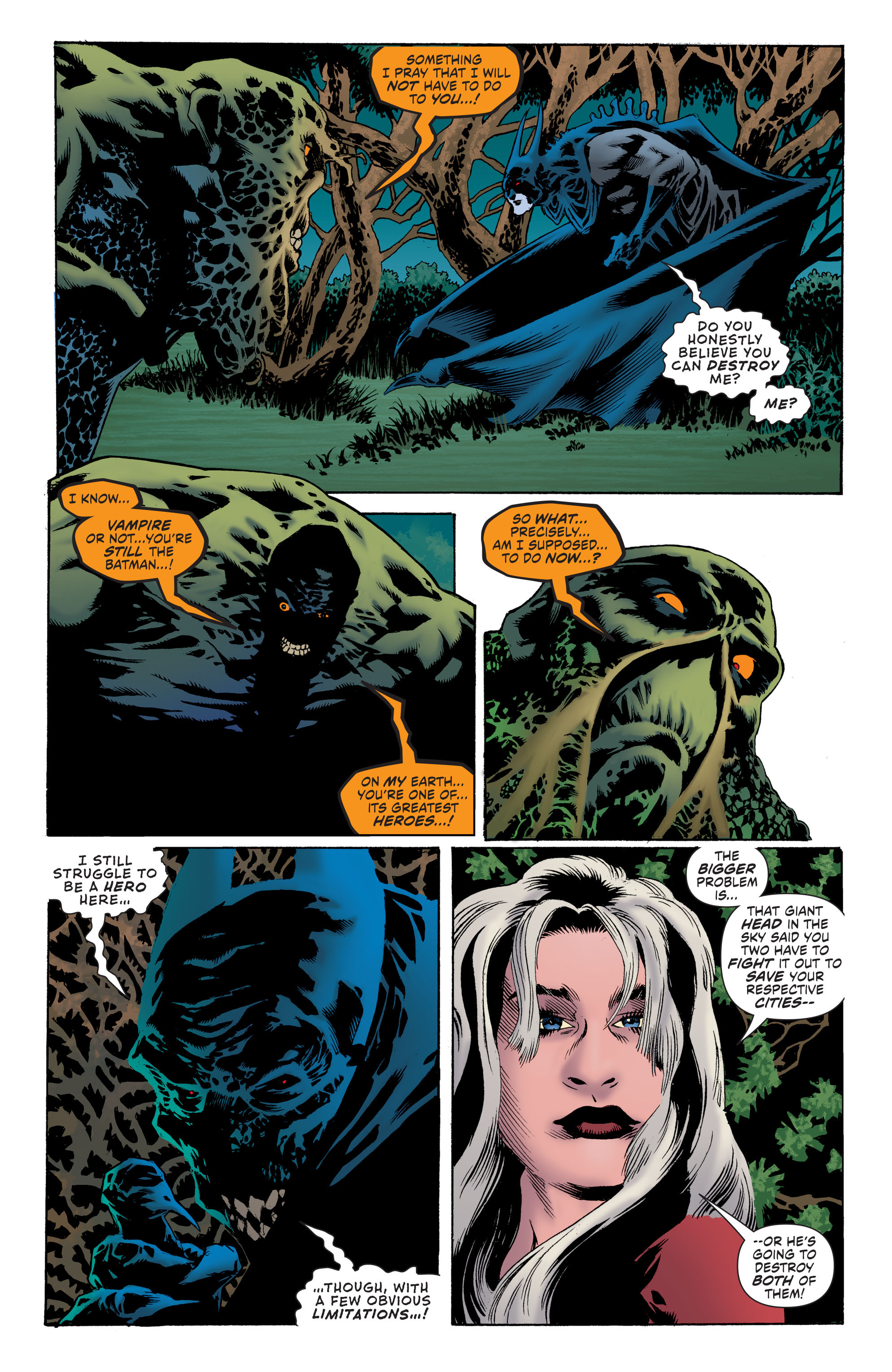Read online Convergence Swamp Thing comic -  Issue #2 - 7