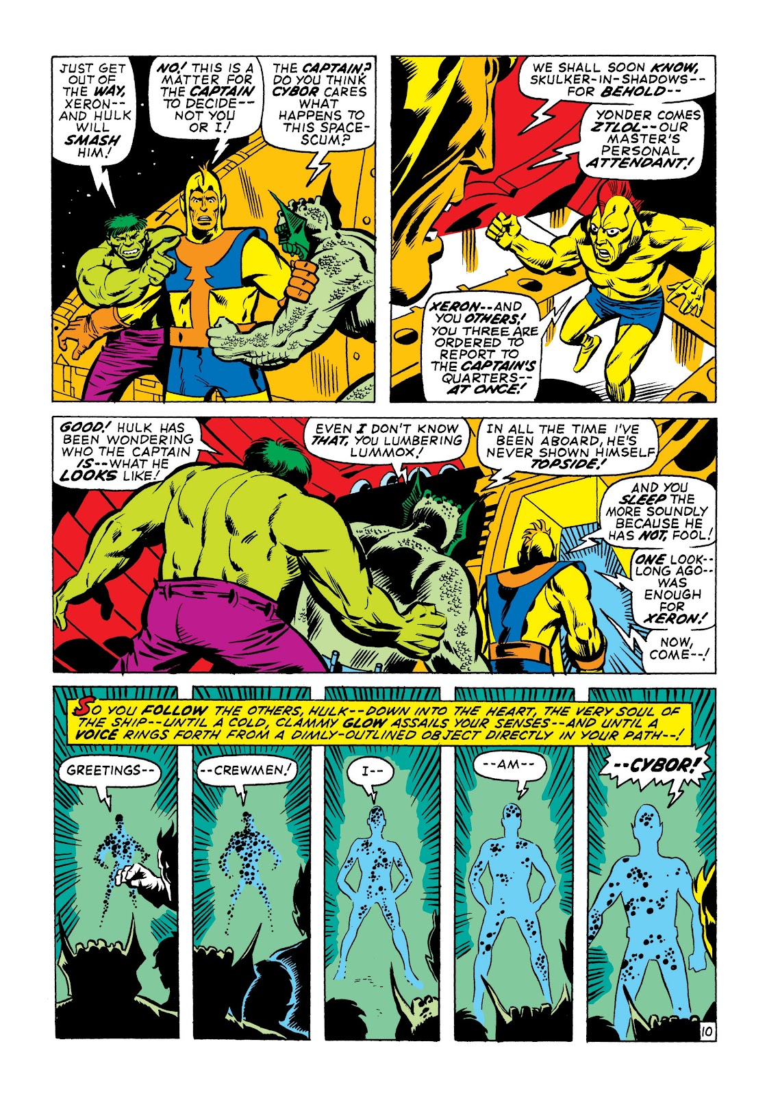 Read online Marvel Masterworks: The Incredible Hulk comic -  Issue # TPB 7 (Part 1) - 57