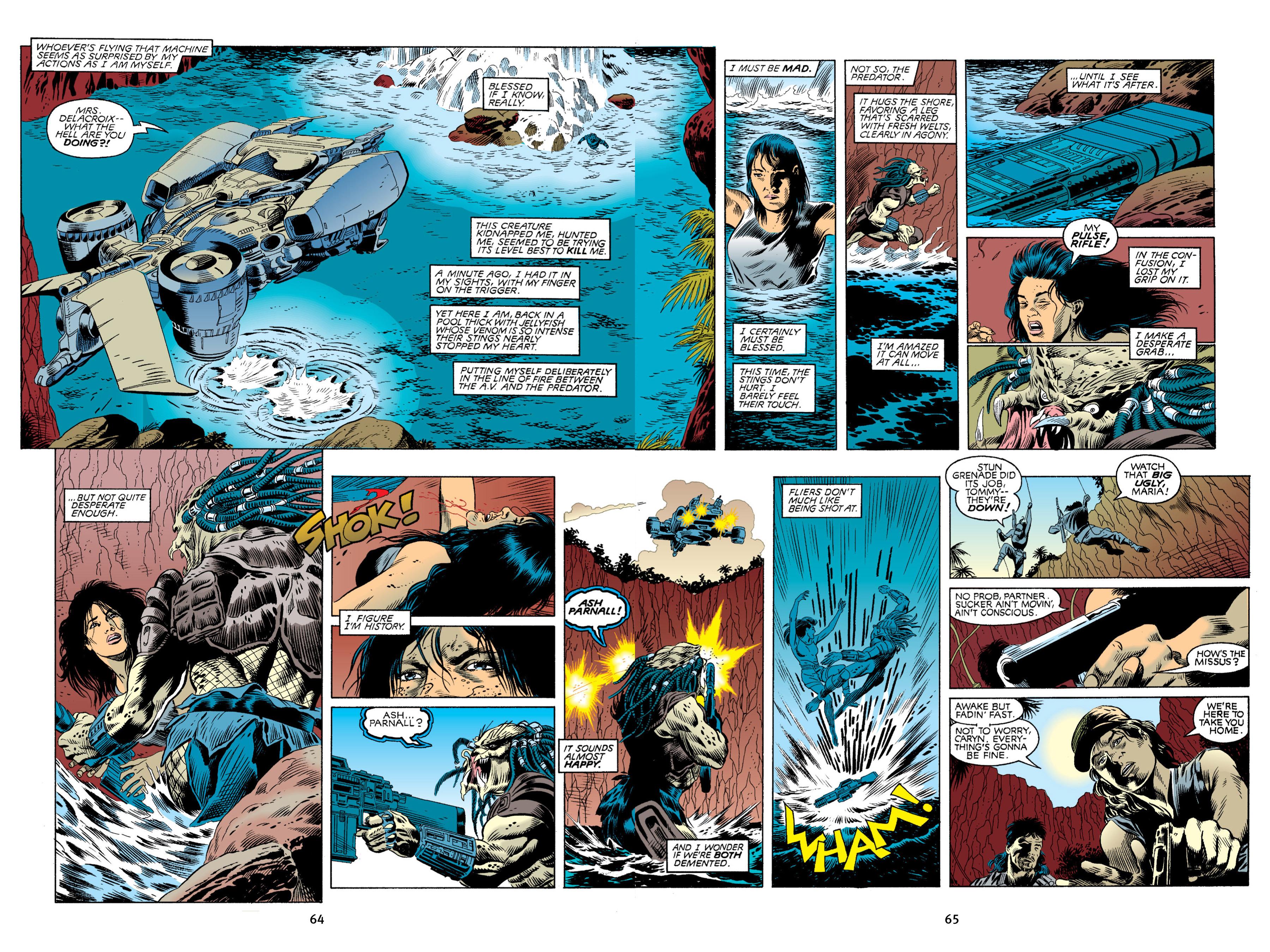 Read online Aliens vs. Predator Omnibus comic -  Issue # _TPB 2 Part 1 - 64
