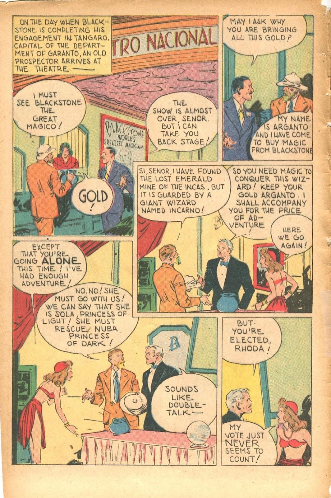 Read online Super-Magician Comics comic -  Issue #35 - 4