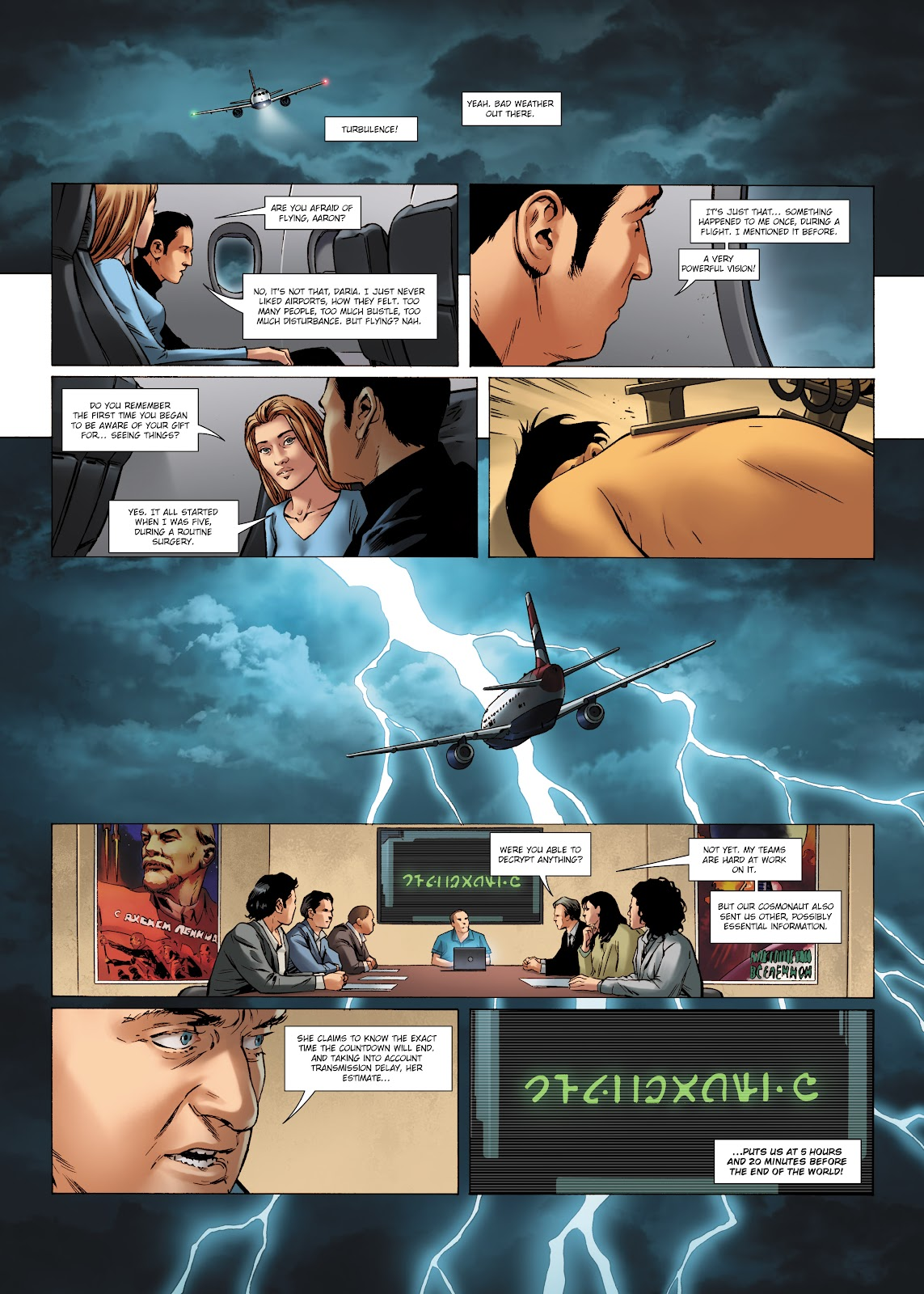 Read online Olympus Mons Vol. 1: Anomaly One comic -  Issue #5 - 34