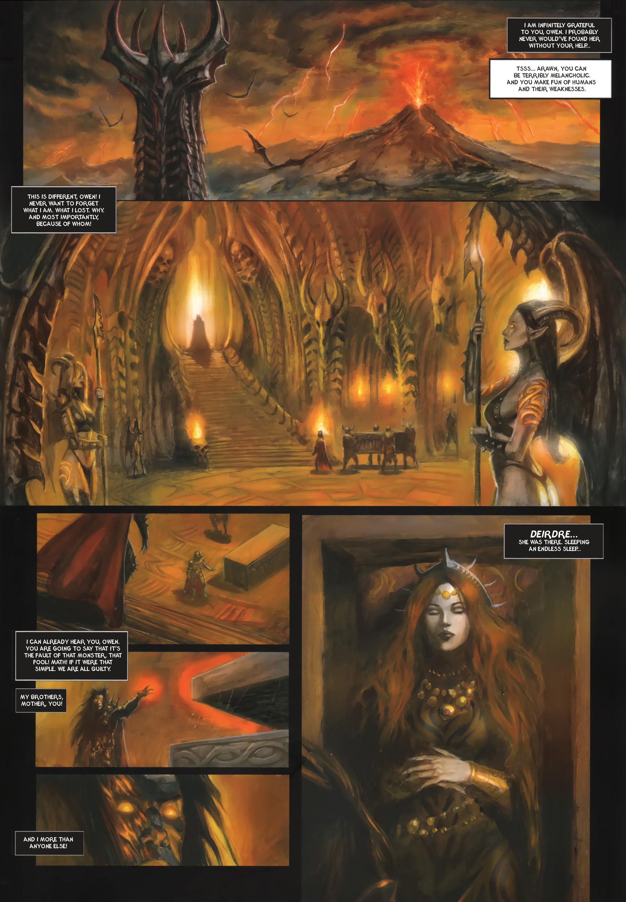 Read online Arawn comic -  Issue #6 - 36