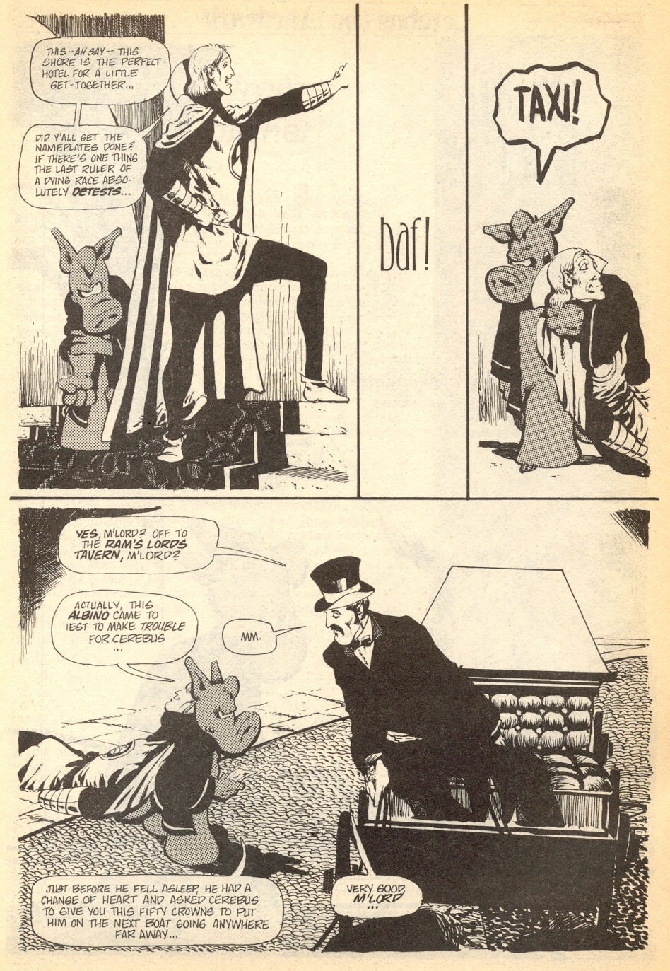Cerebus Issue #34 #34 - English 5