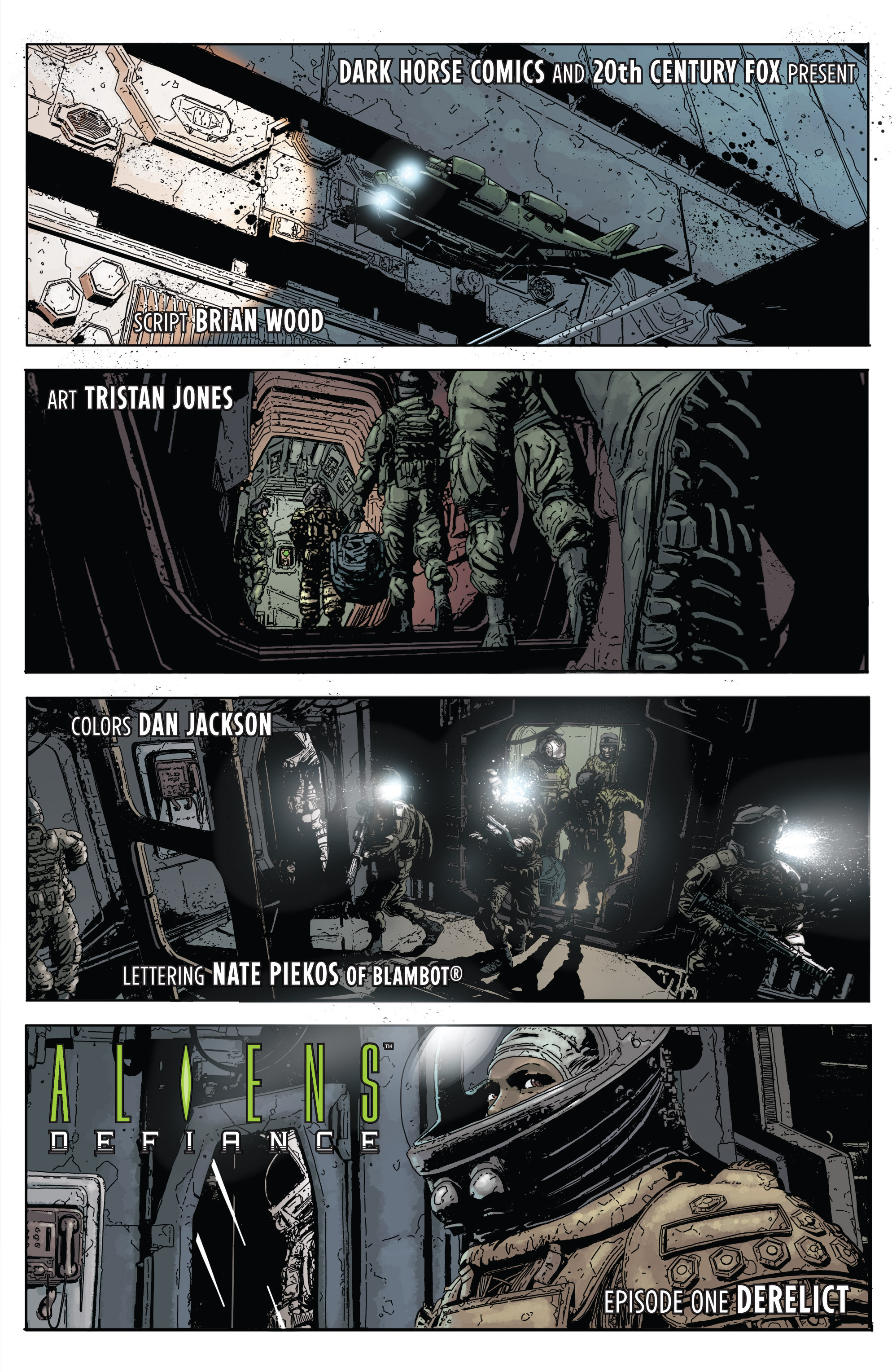 Read online Aliens: Defiance comic -  Issue #1 - 13