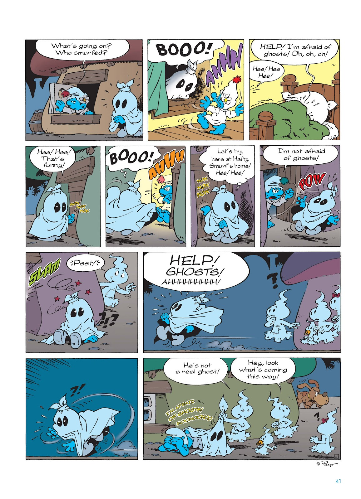 Read online The Smurfs comic -  Issue #15 - 42