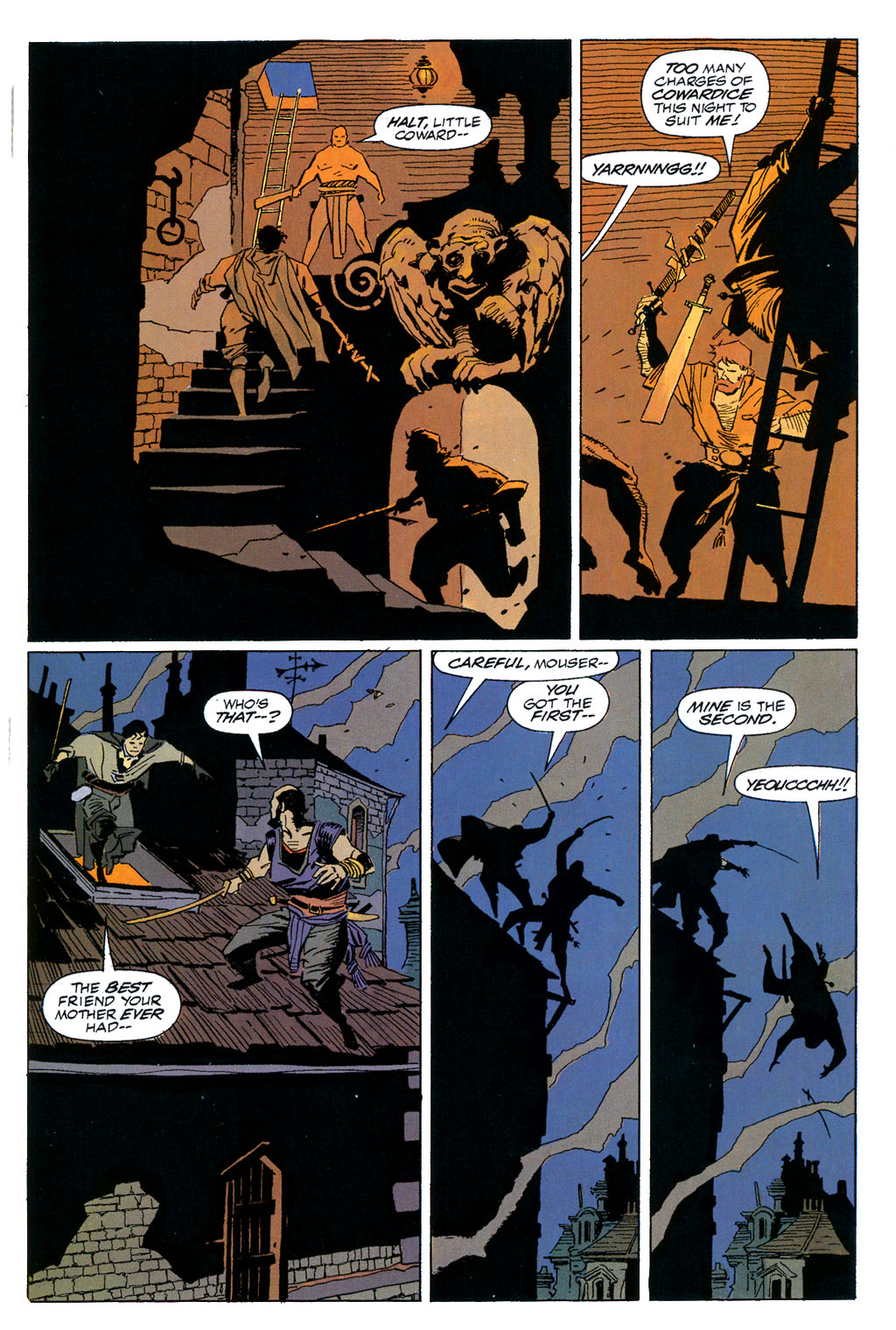 Read online Fafhrd and the Gray Mouser comic -  Issue #1 - 29