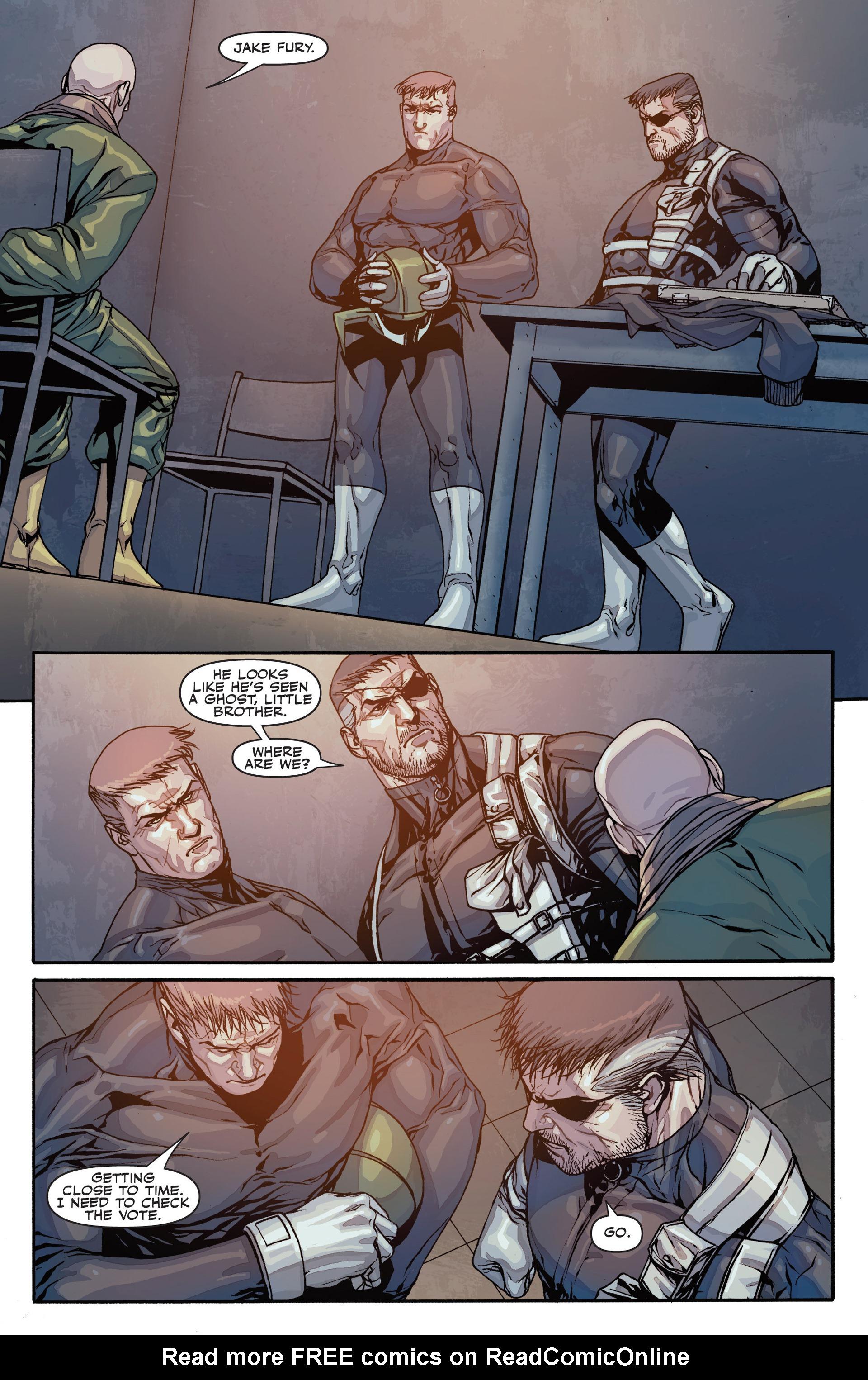 Read online Secret Warriors comic -  Issue #26 - 20
