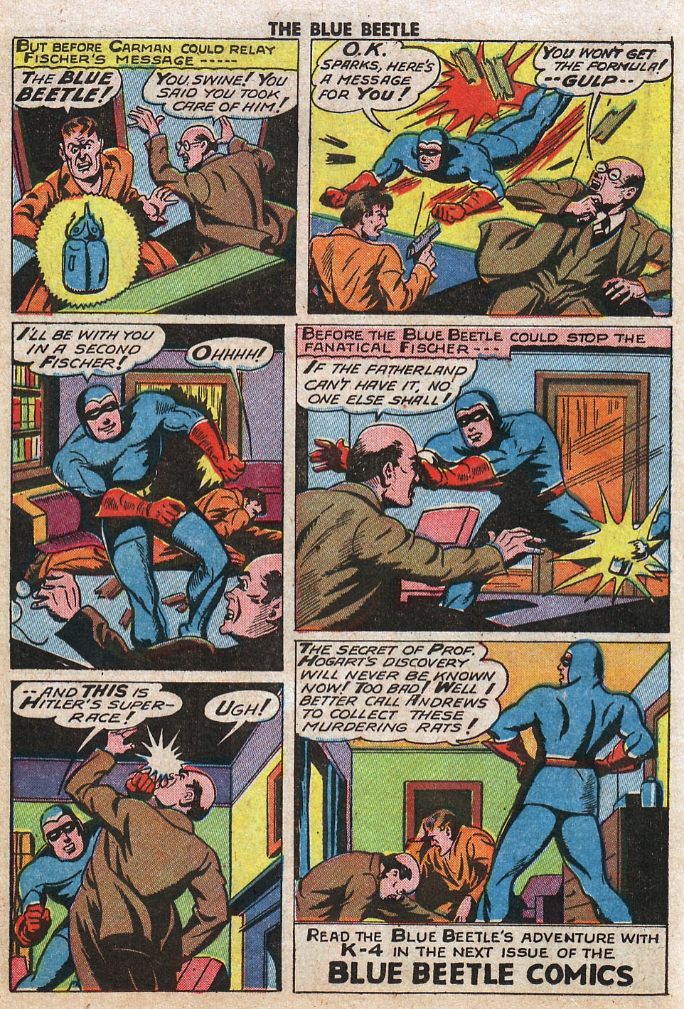 The Blue Beetle issue 33 - Page 24