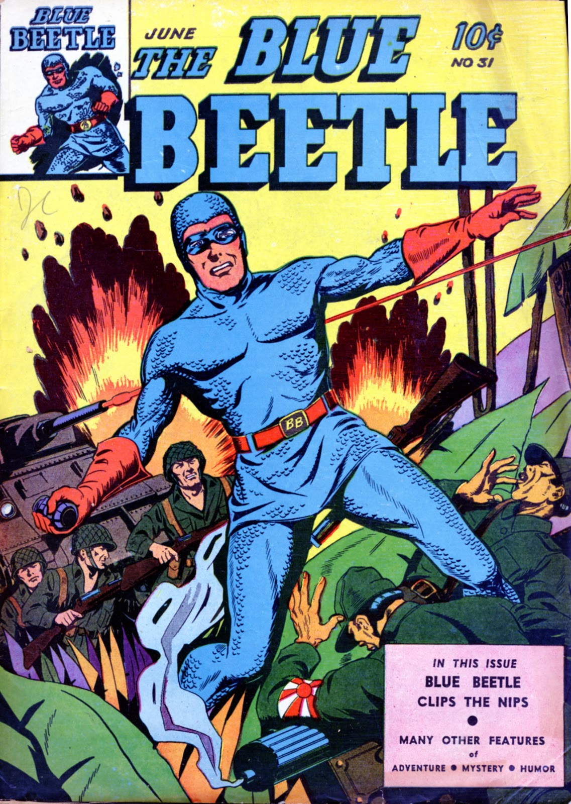 The Blue Beetle issue 31 - Page 1