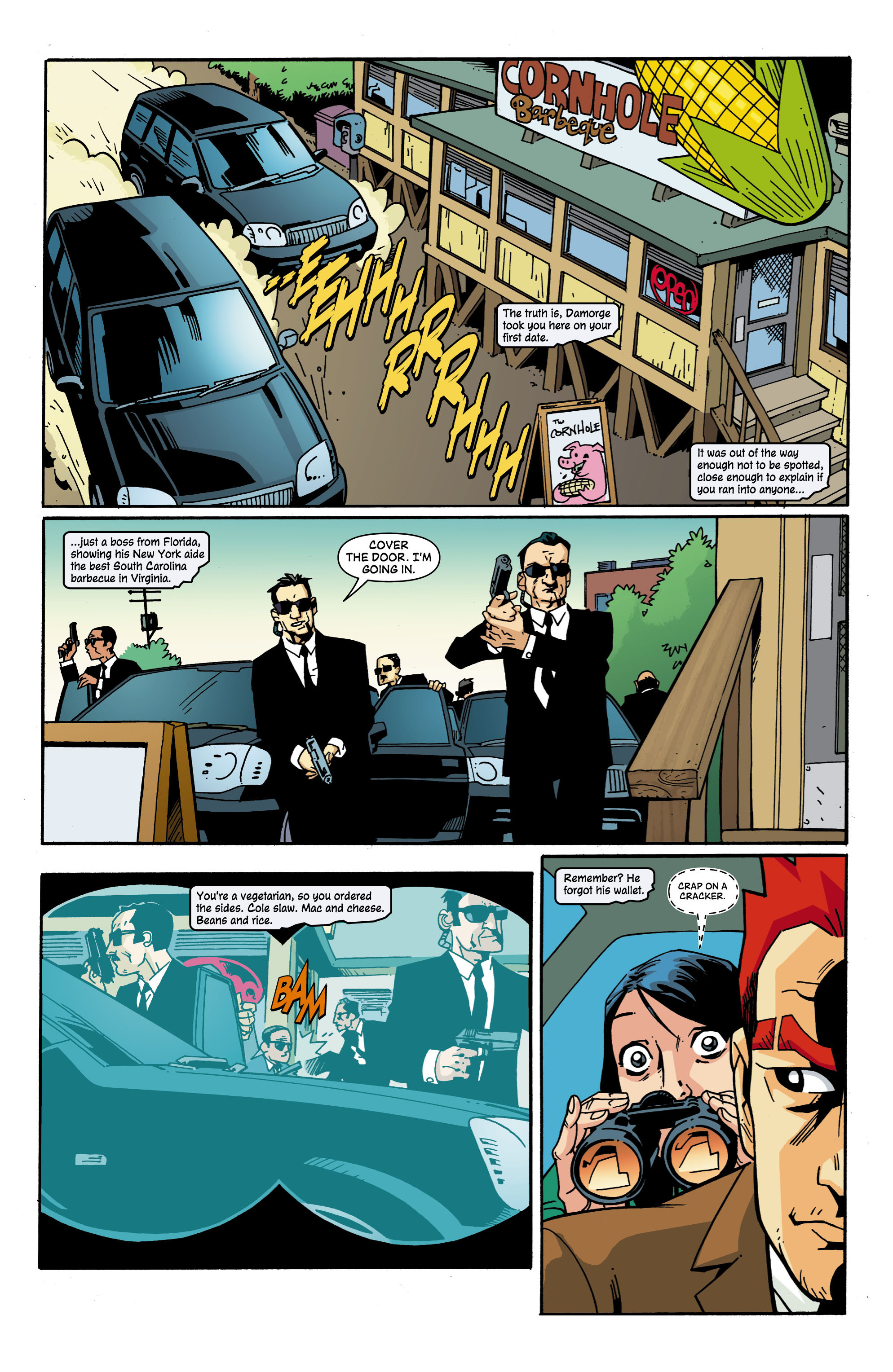 Read online Red Herring comic -  Issue #2 - 12