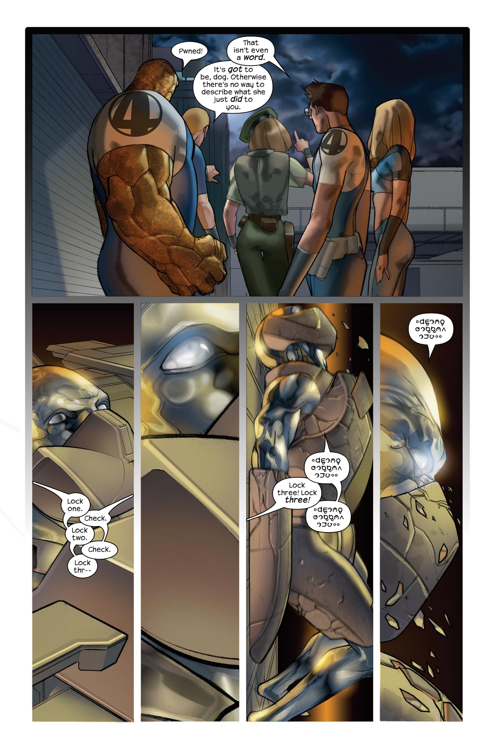 Read online Ultimate Fantastic Four (2004) comic -  Issue #43 - 20
