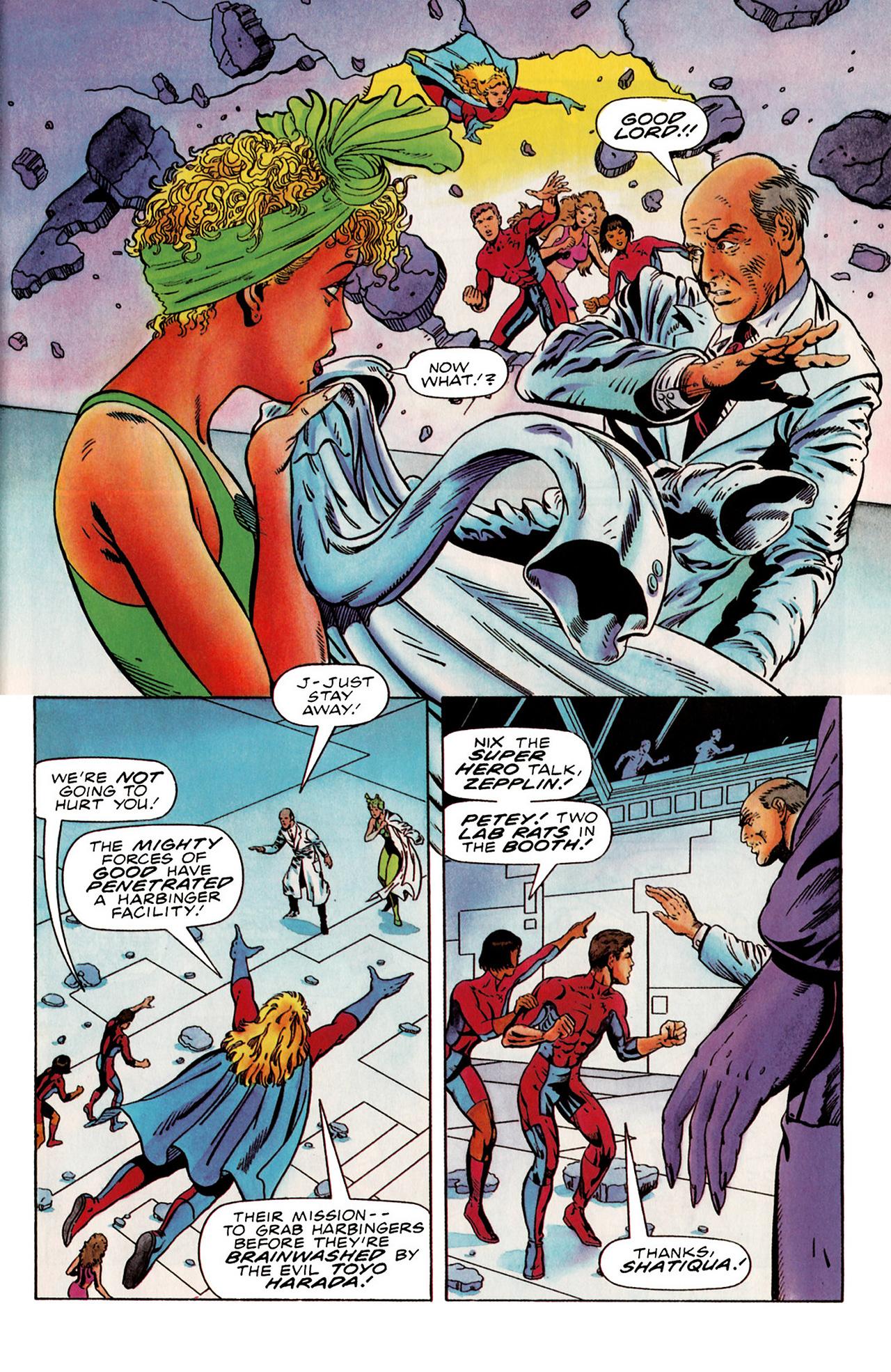 Read online Harbinger (1992) comic -  Issue #19 - 4