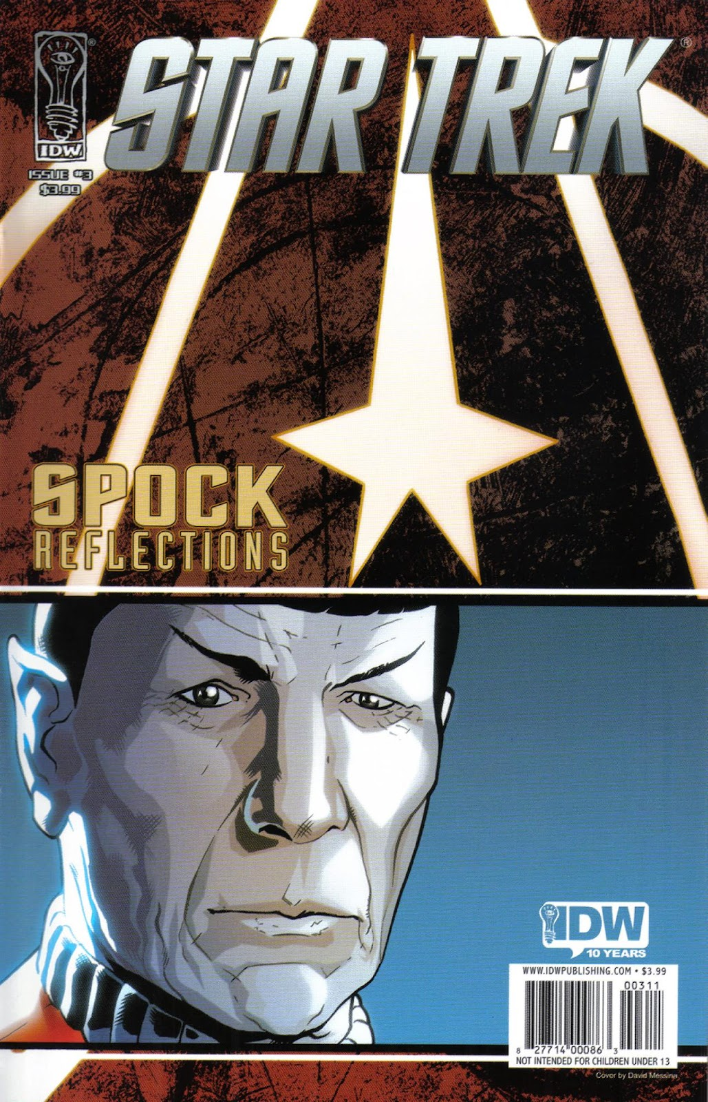 Star Trek: Spock: Reflections issue 3 - Page 1