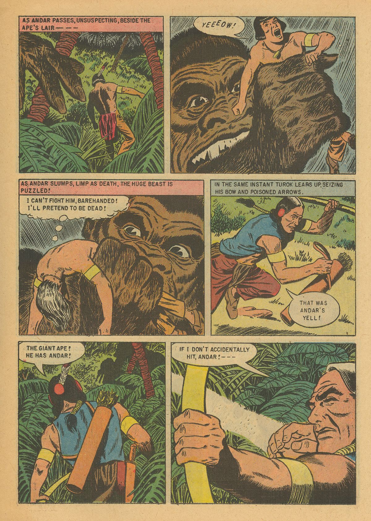 Read online Turok, Son of Stone comic -  Issue #6 - 15