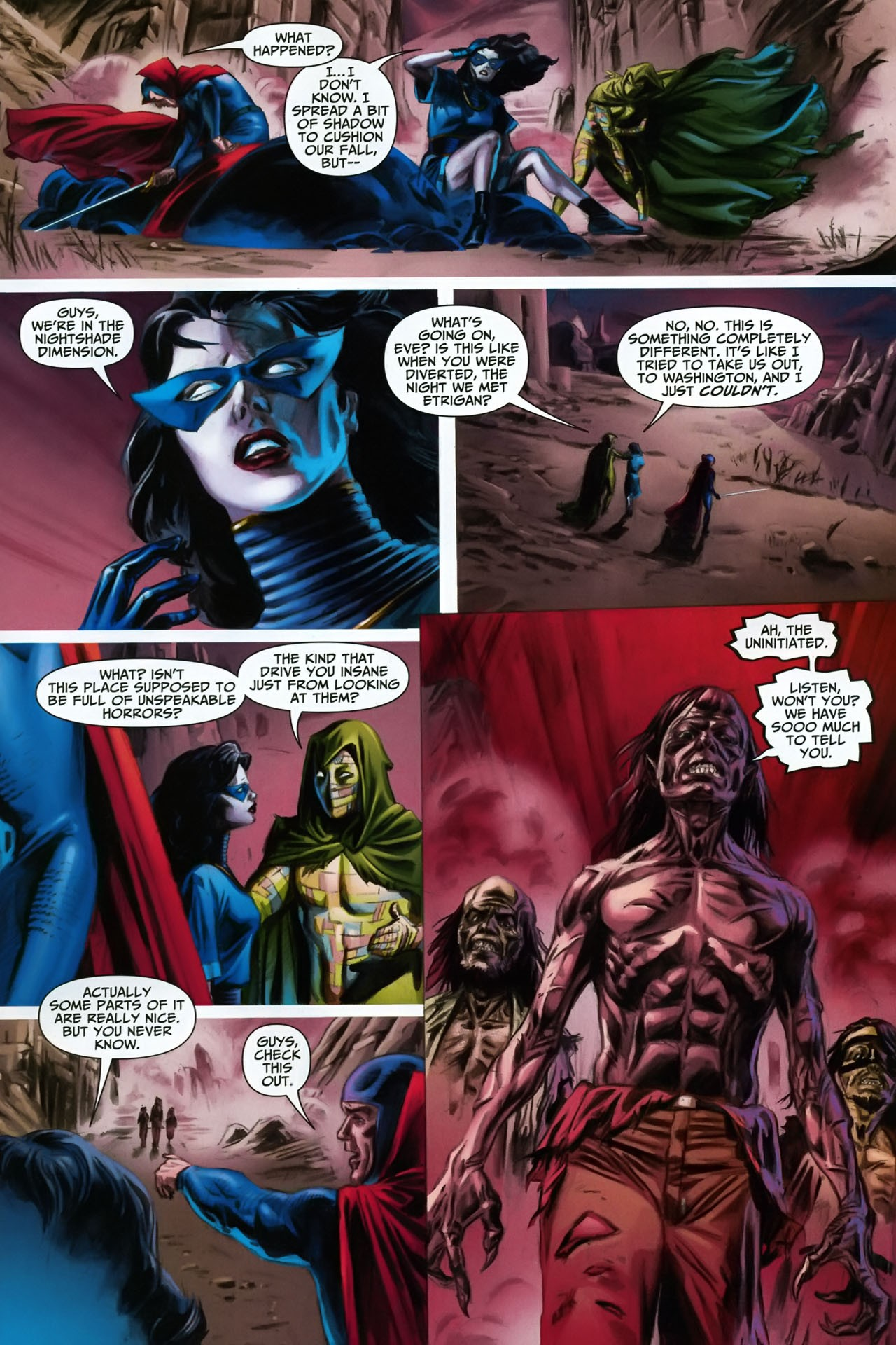 Read online Shadowpact comic -  Issue #17 - 15