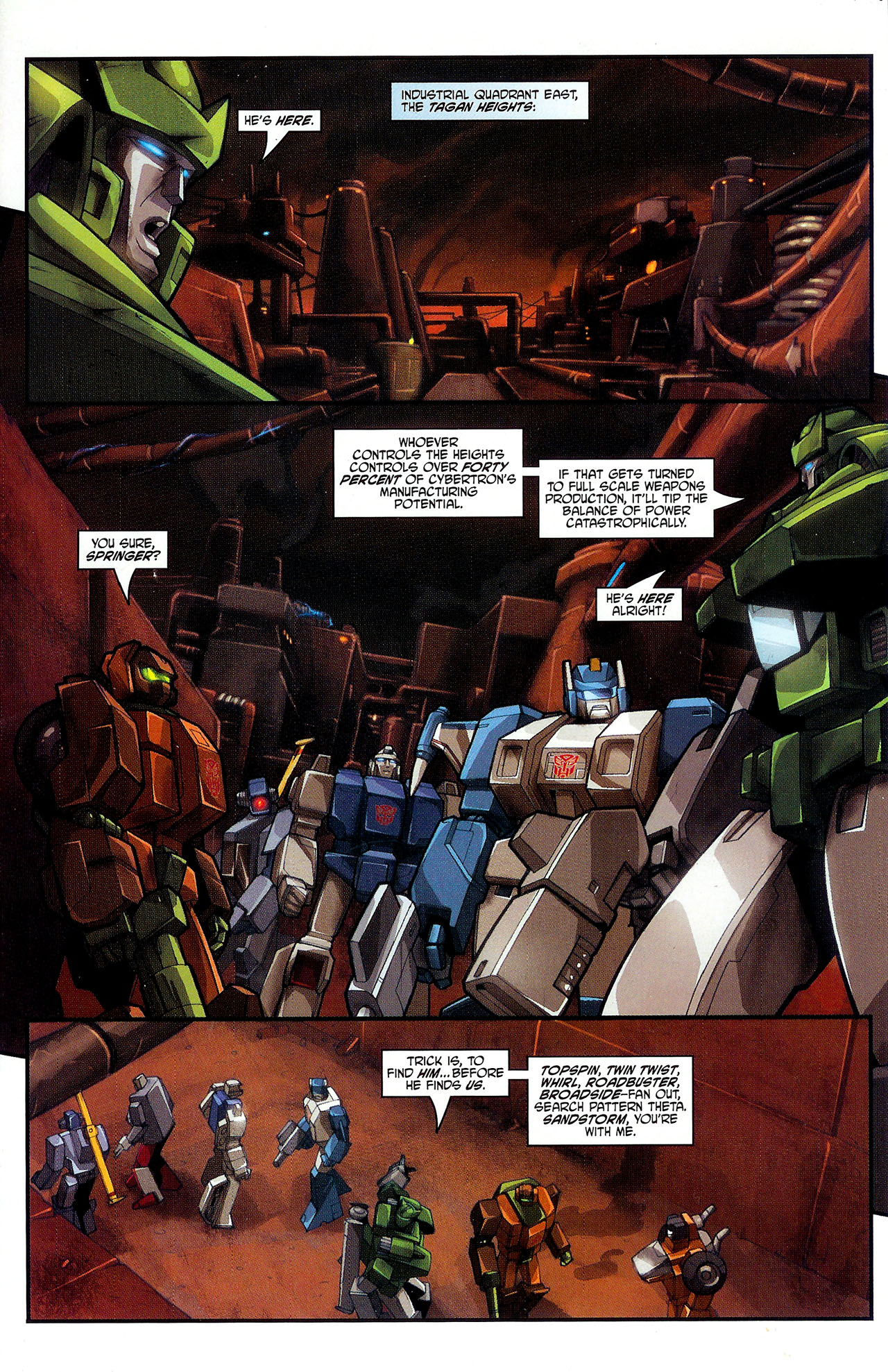 """Read online Transformers War Within: """"The Dark Ages"""" comic -  Issue #2 - 6"""