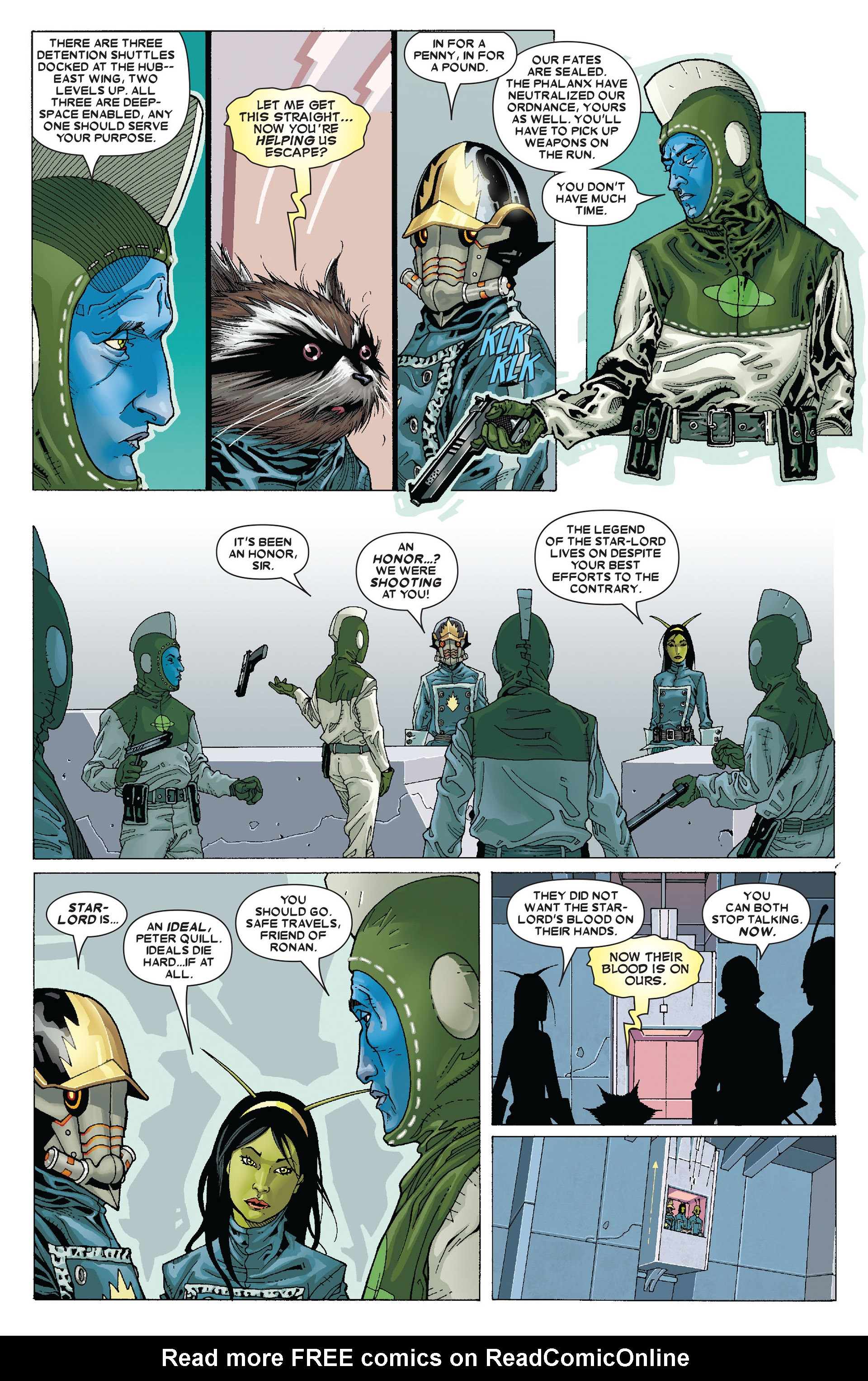 Read online Annihilation: Conquest - Starlord comic -  Issue #4 - 13