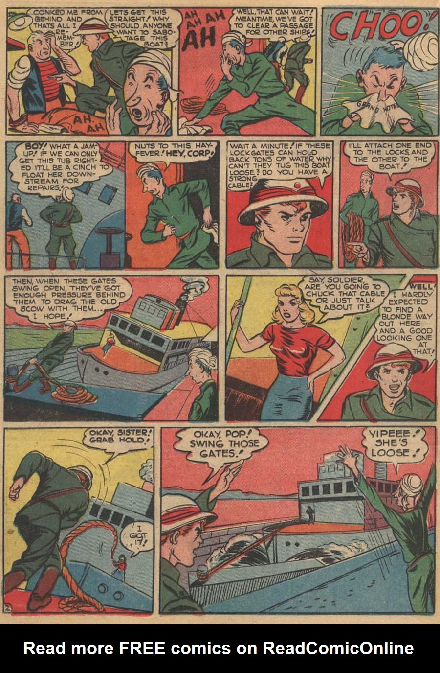 Blue Ribbon Comics (1939) issue 16 - Page 32