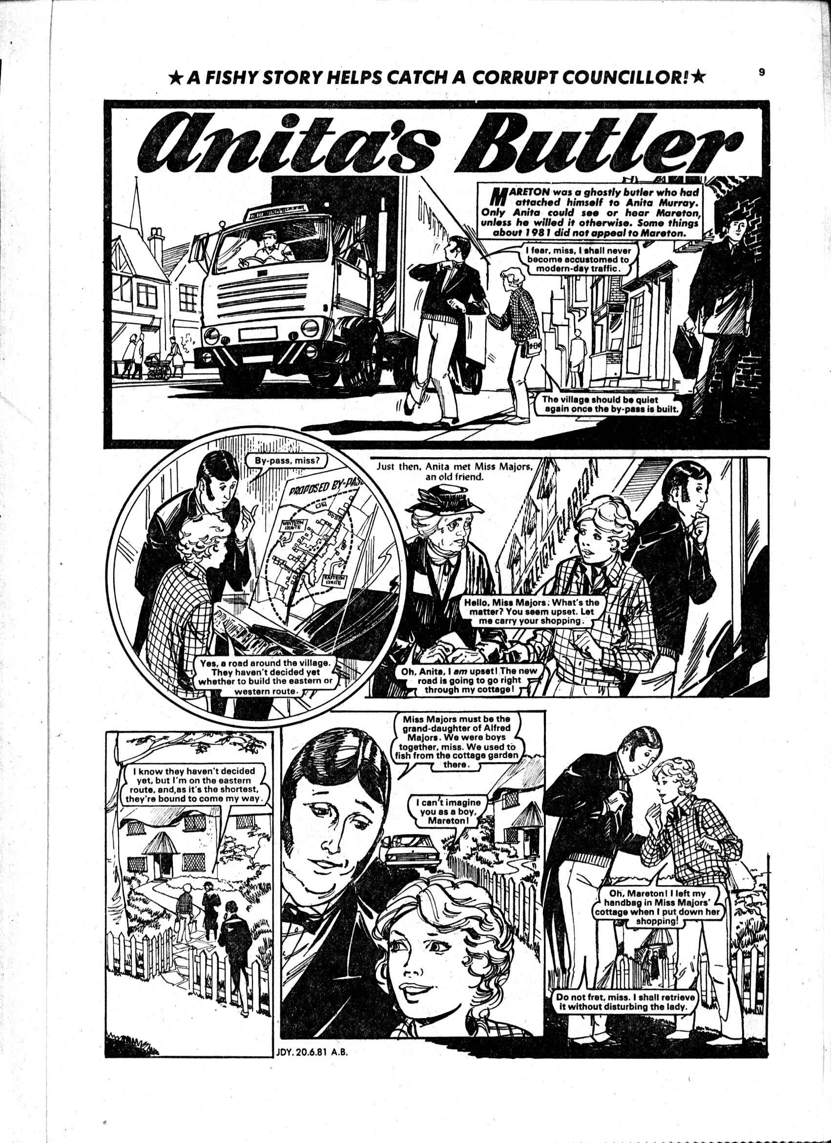 Read online Judy comic -  Issue #1119 - 9