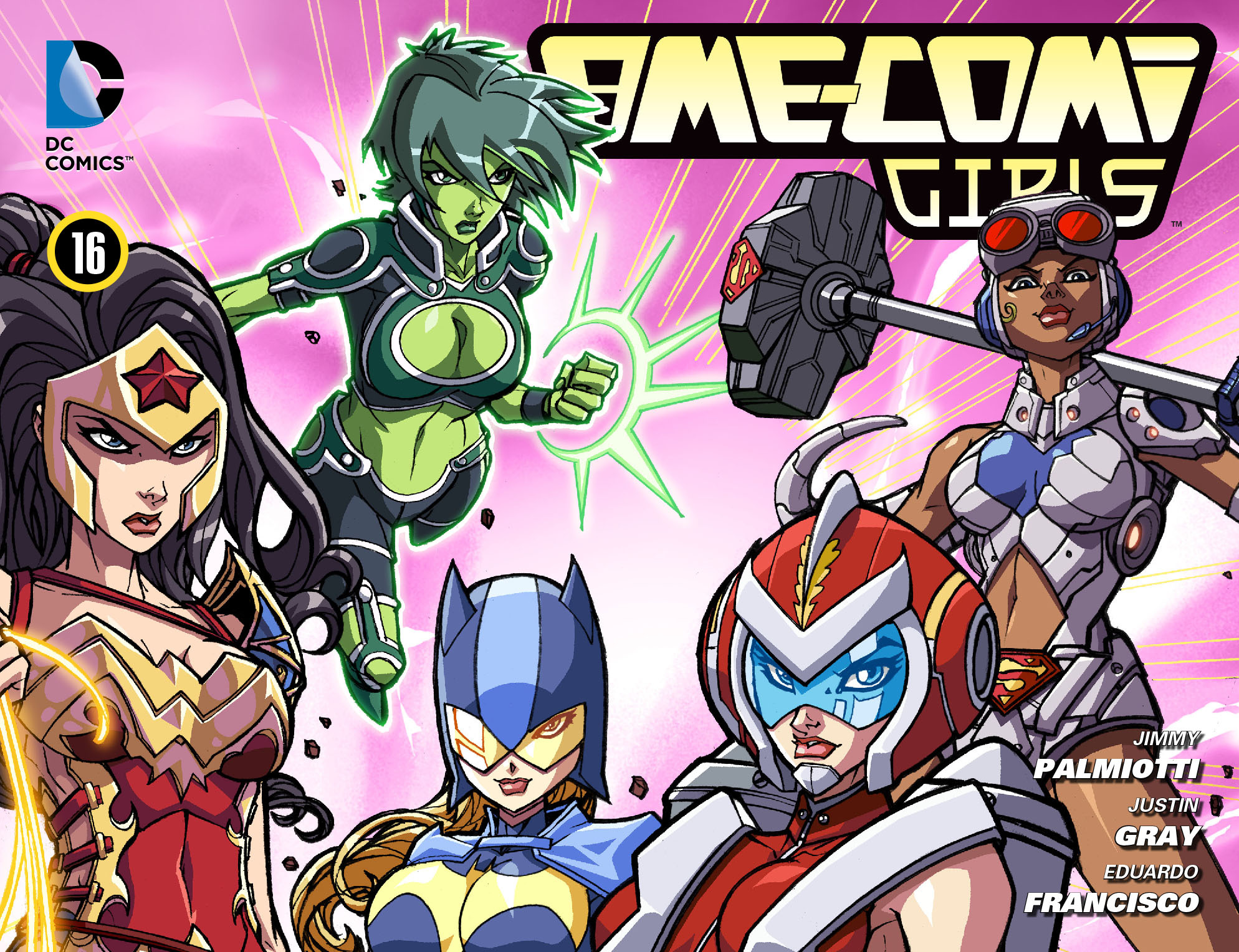 Read online Ame-Comi Girls comic -  Issue #16 - 1