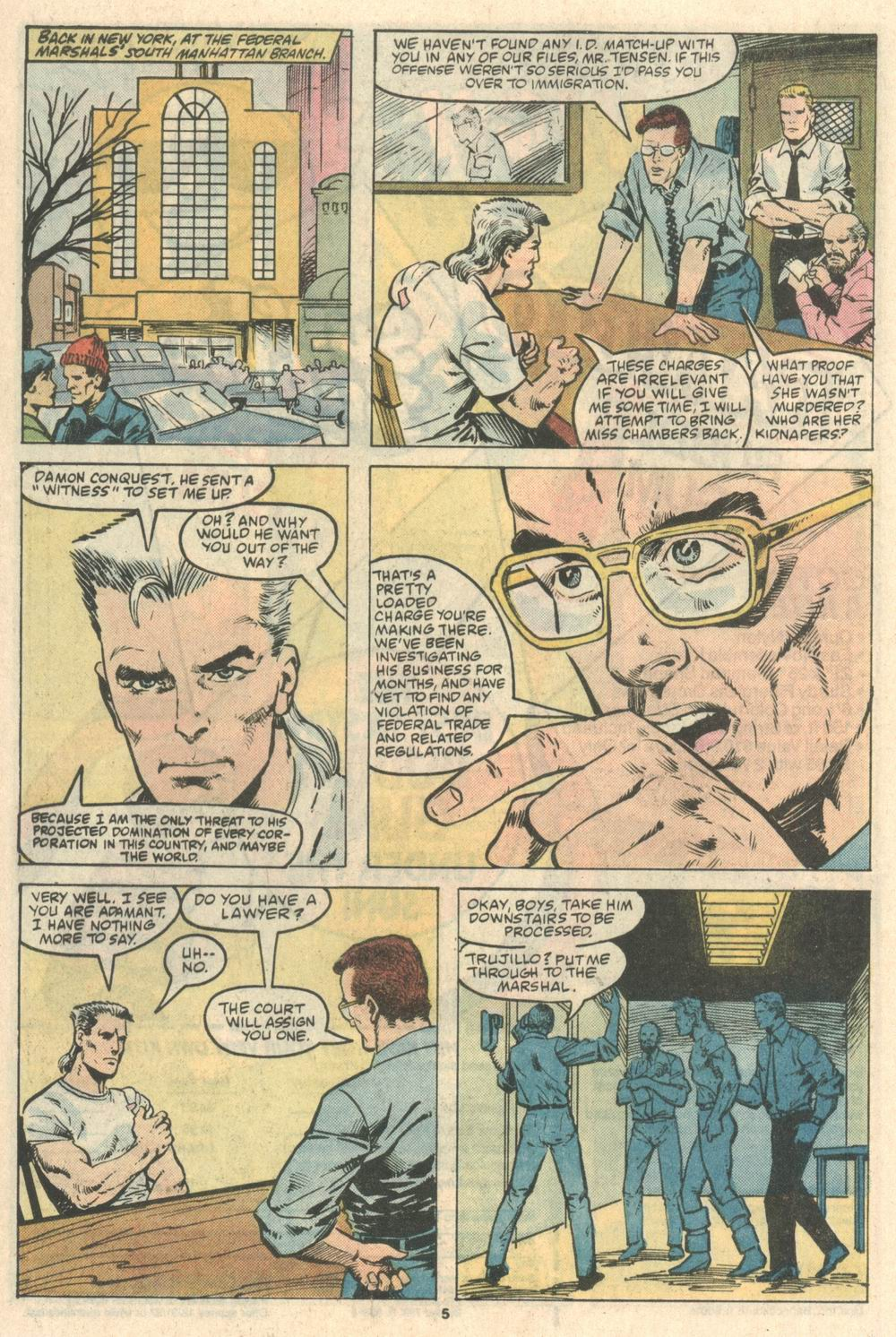 Read online Justice (1986) comic -  Issue #8 - 6