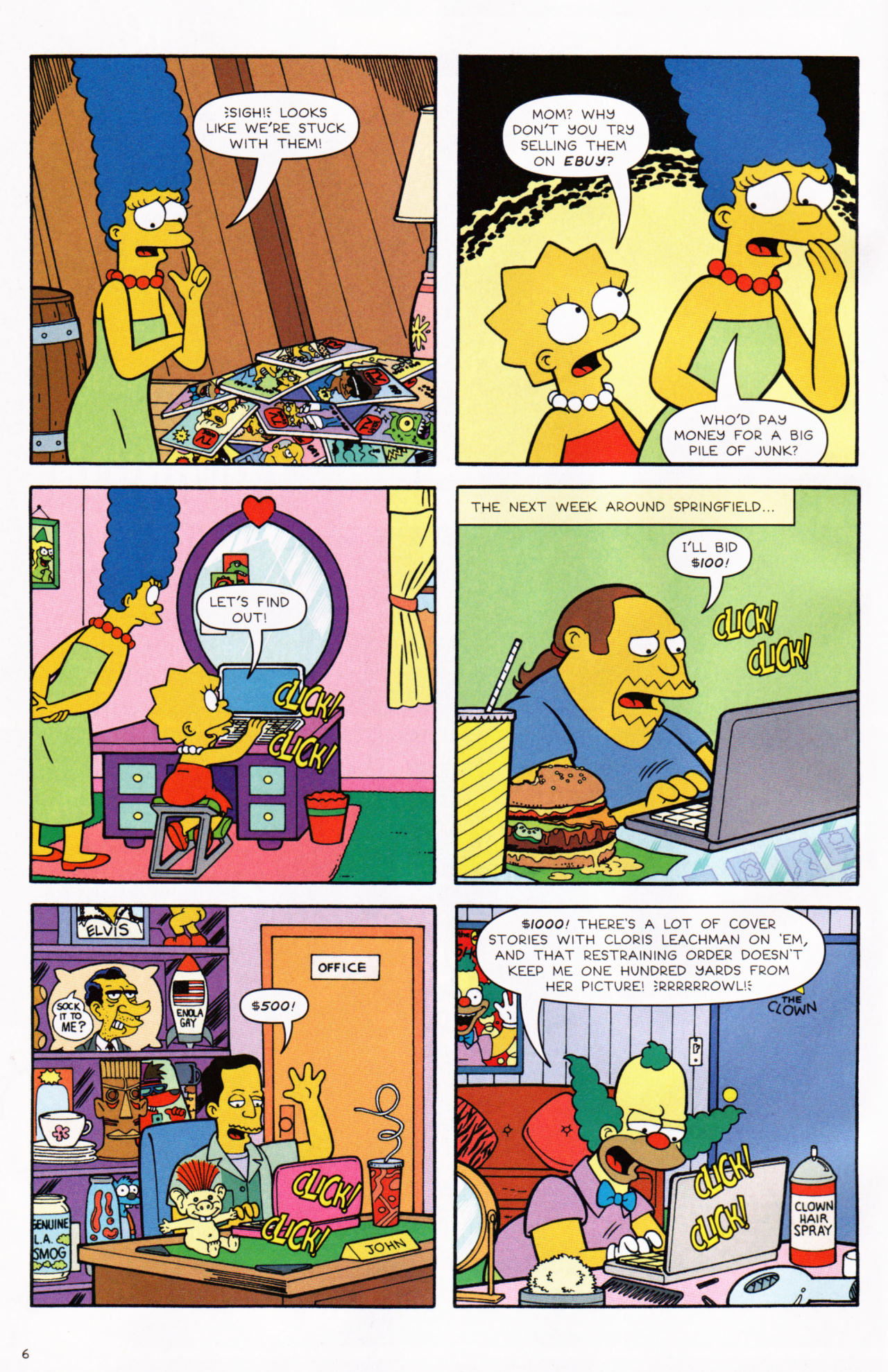 Read online Simpsons Comics comic -  Issue #130 - 6