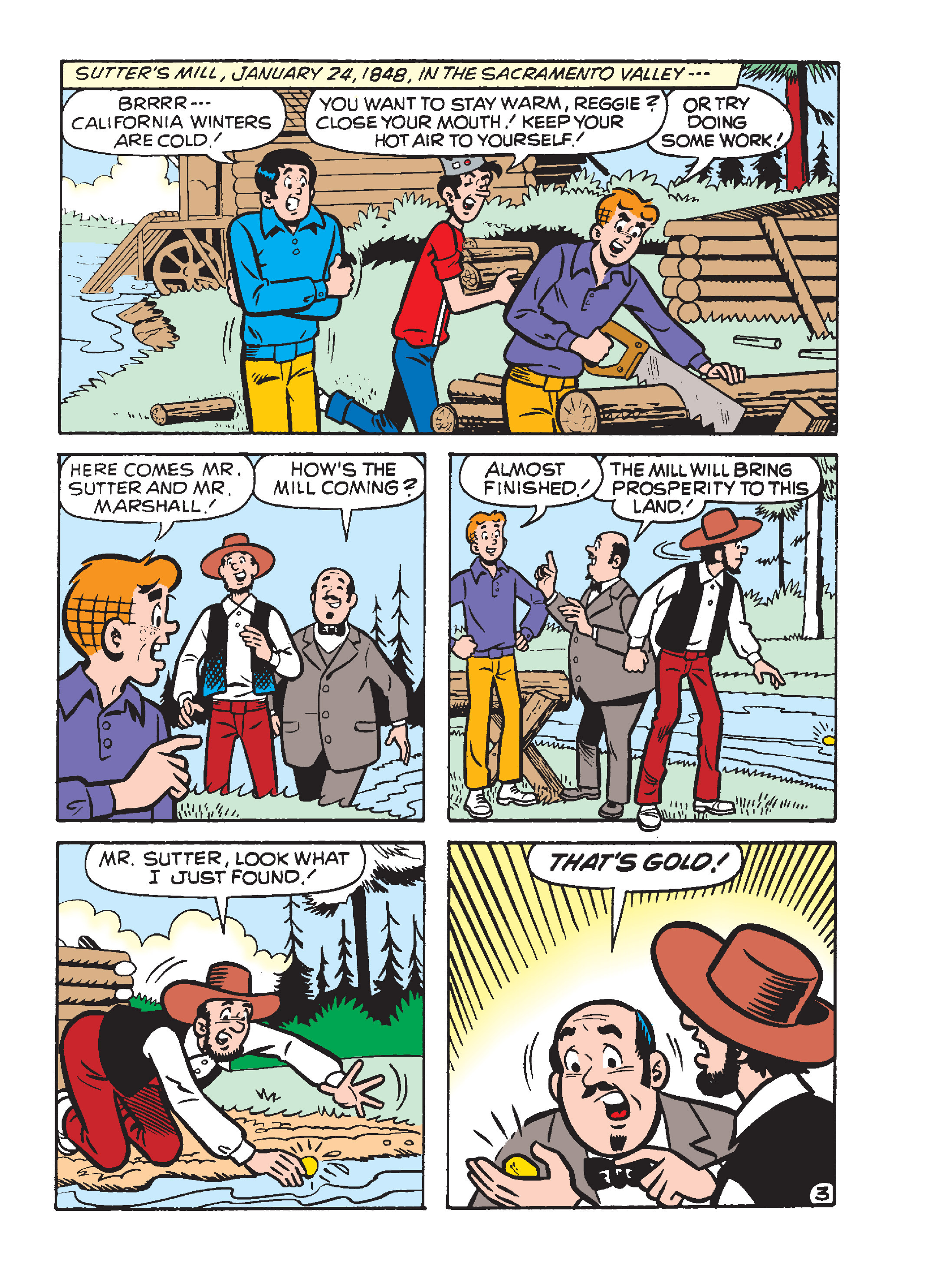 Read online Archie's Funhouse Double Digest comic -  Issue #15 - 115