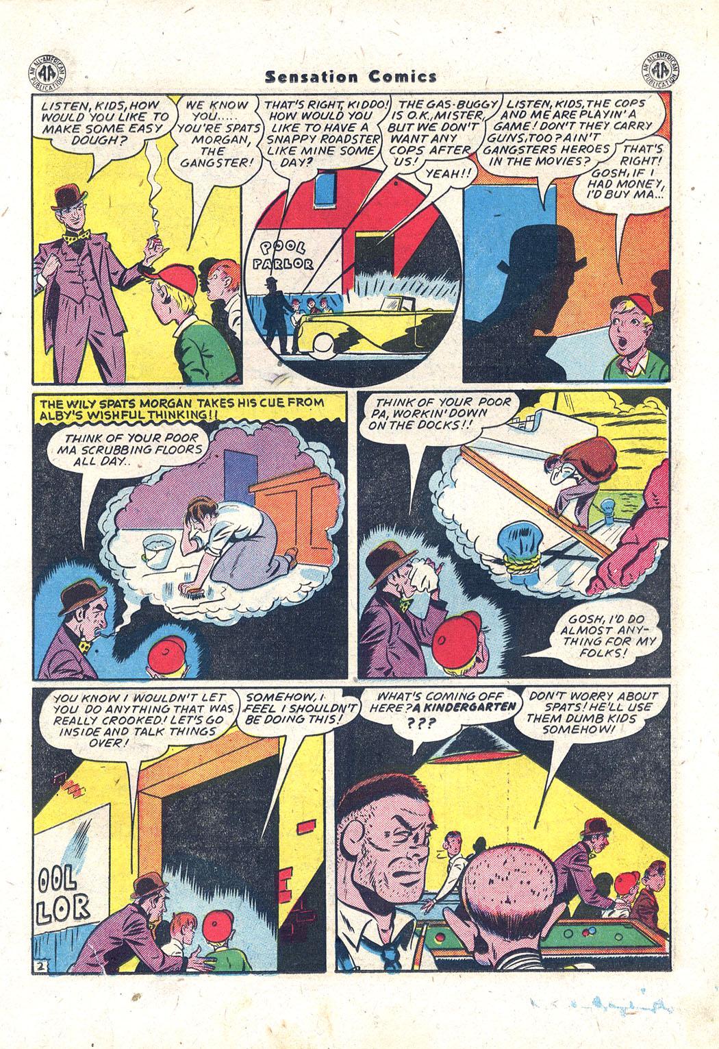 Read online Sensation (Mystery) Comics comic -  Issue #43 - 16