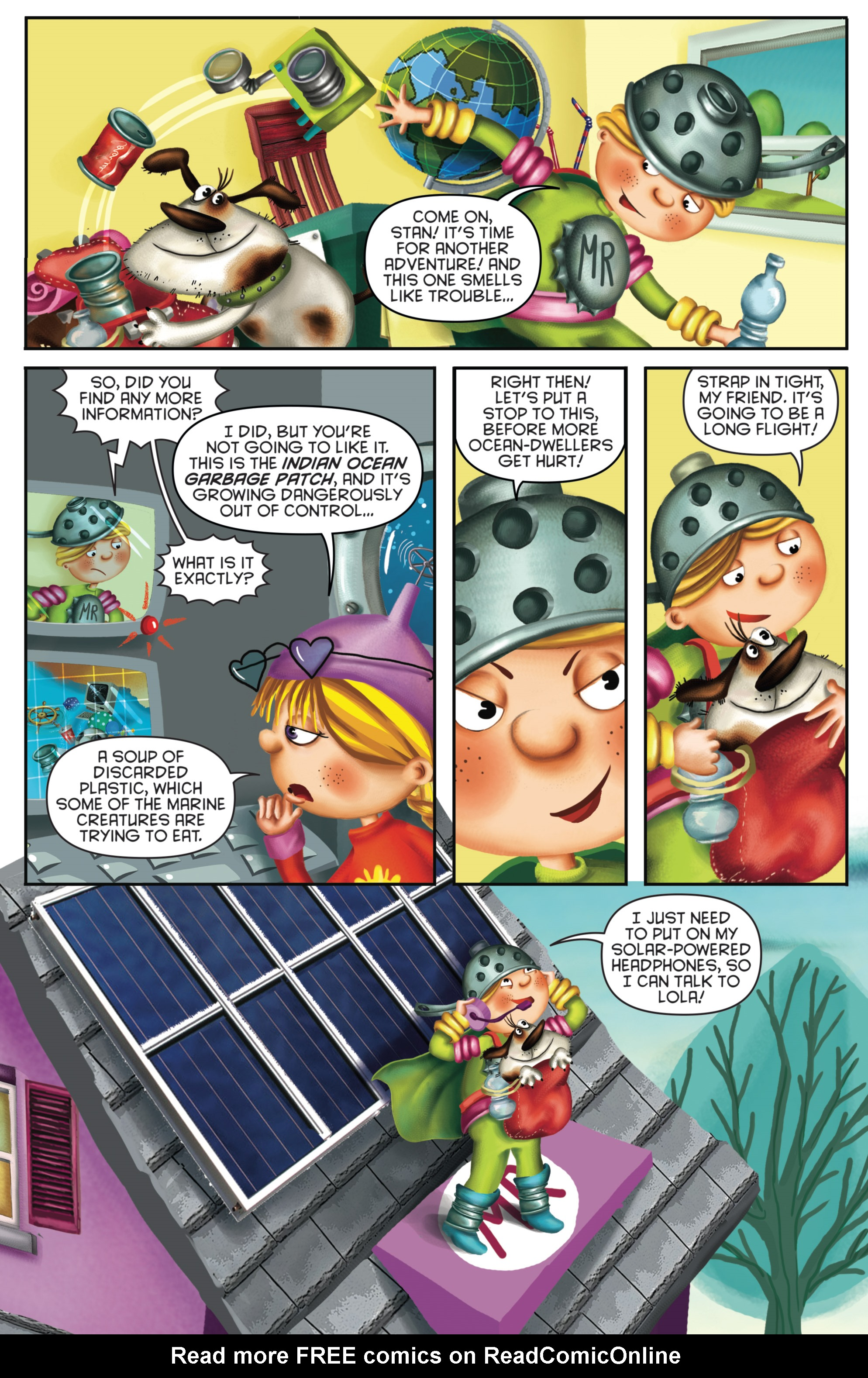 Read online Michael Recycle comic -  Issue #4 - 7