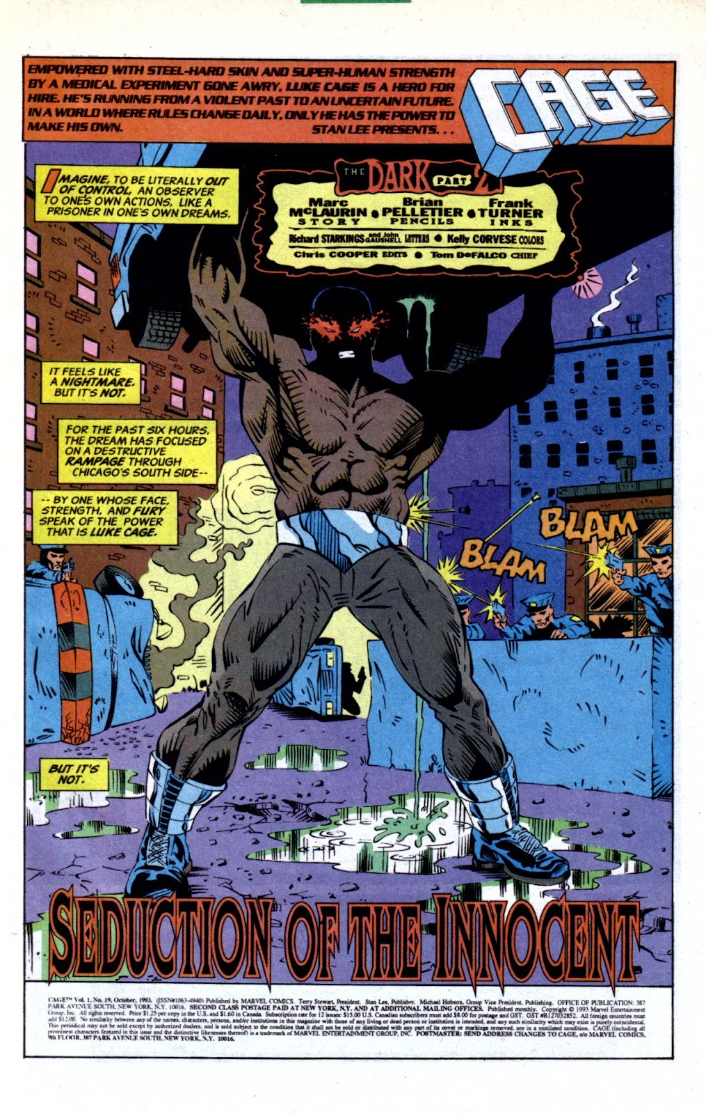 Cage (1992) issue 19 - Page 2