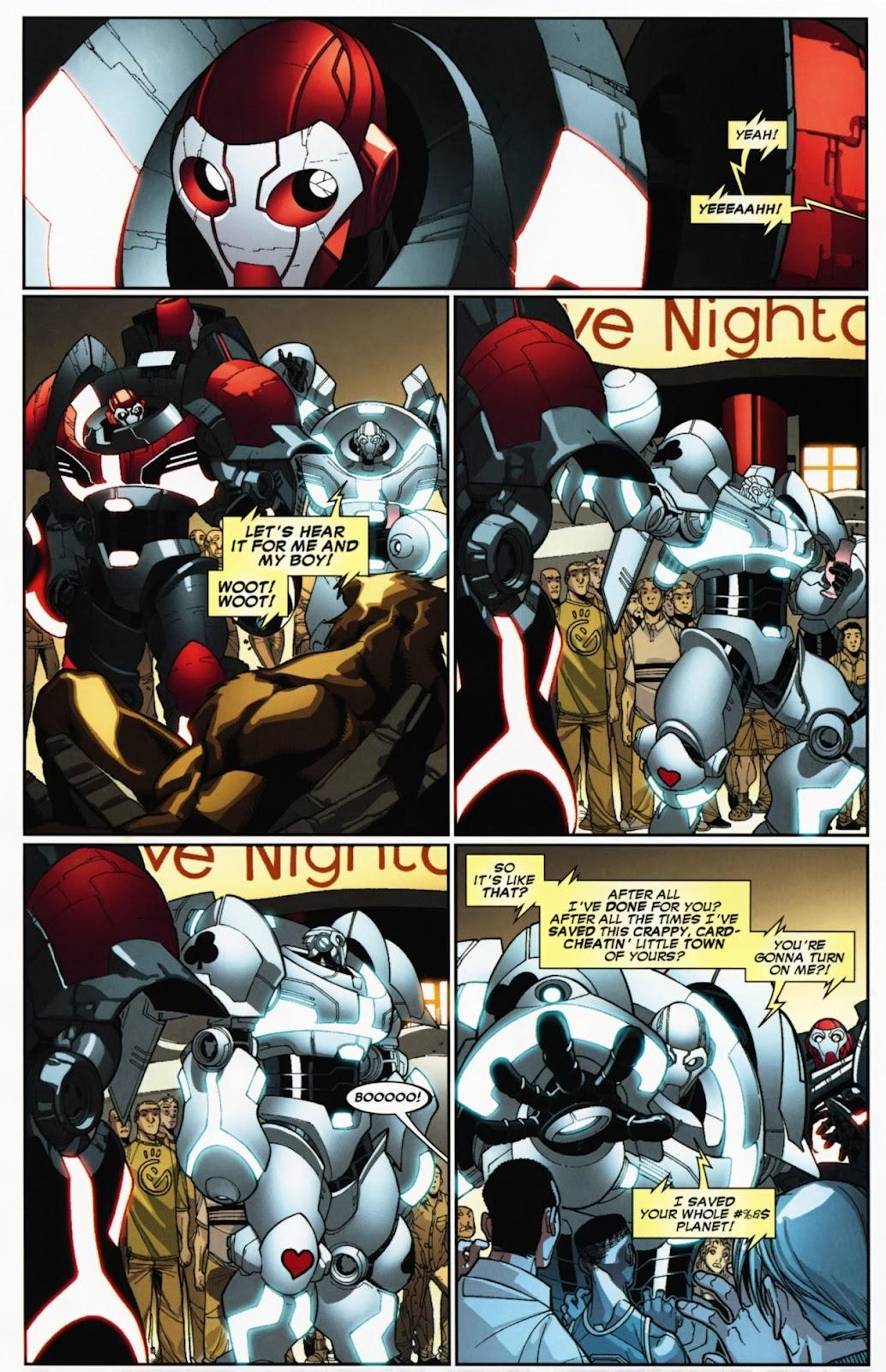 Read online Deadpool (2008) comic -  Issue #24 - 28