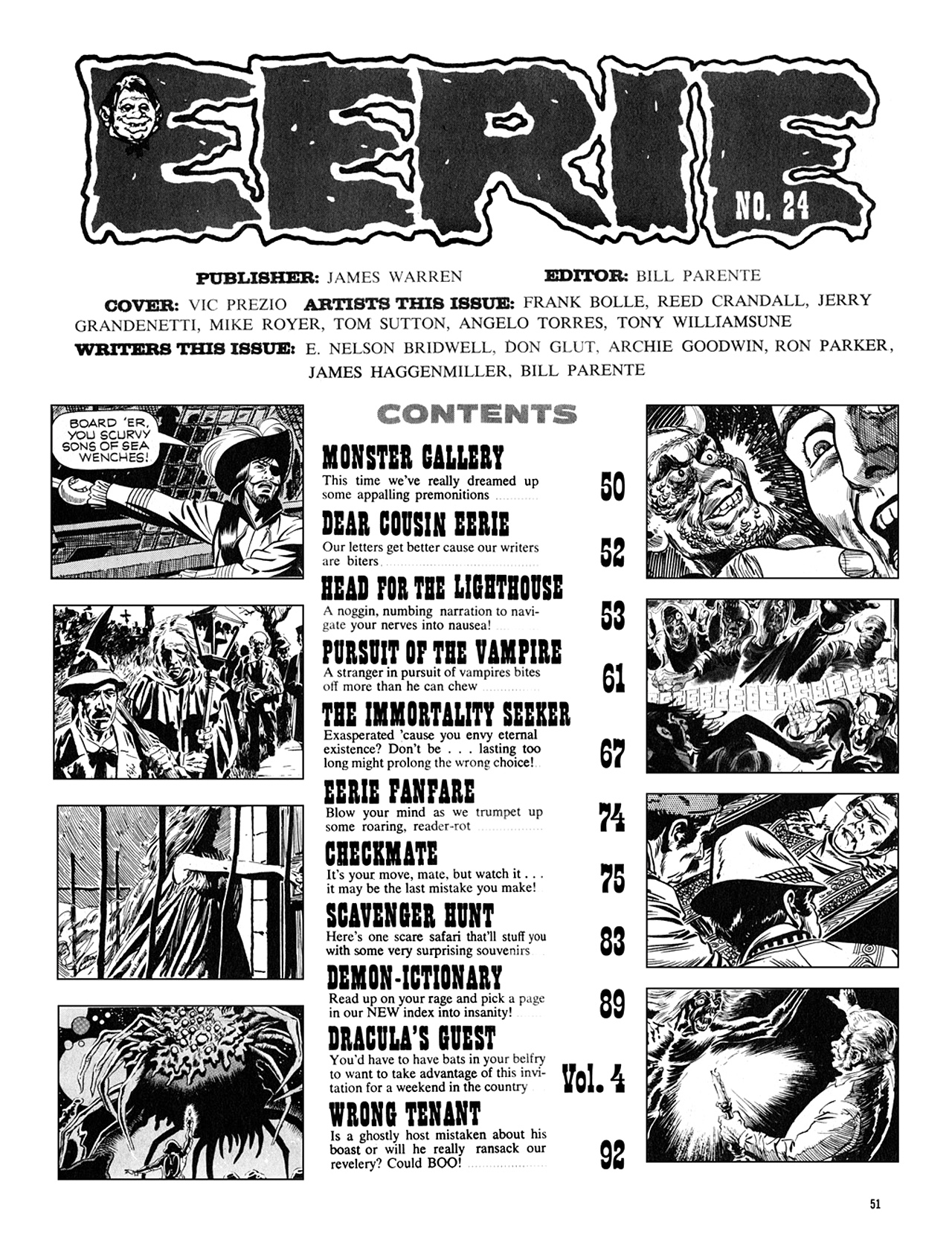 Read online Eerie Archives comic -  Issue # TPB 5 - 52