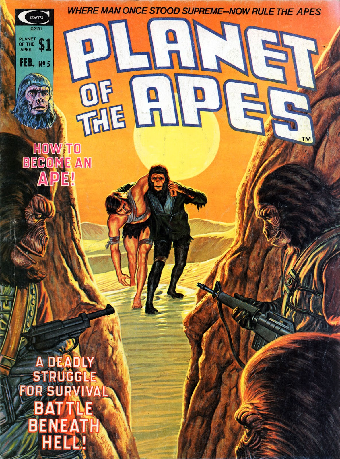 Planet of the Apes (1974) 5 Page 1