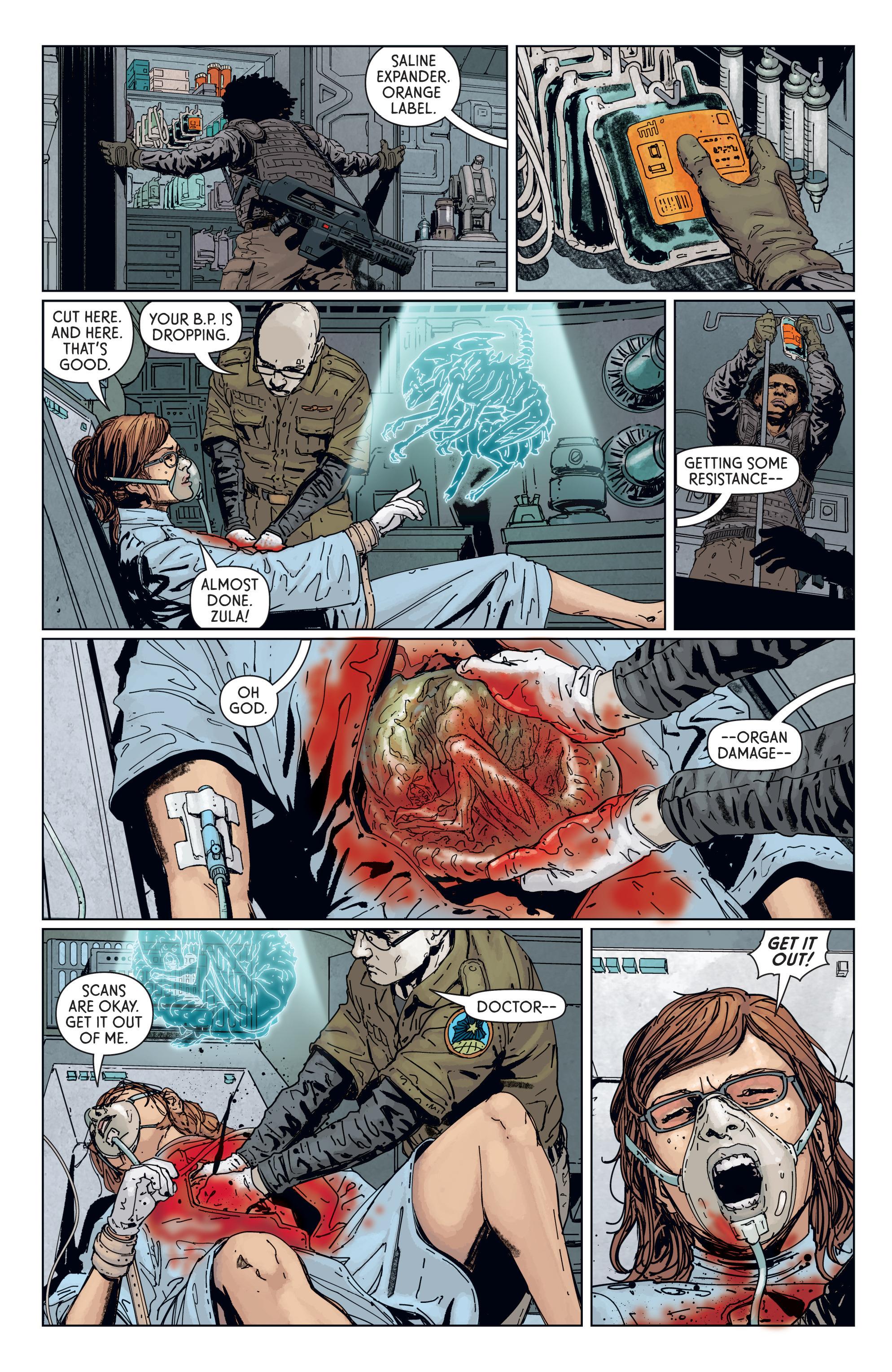 Read online Aliens: Defiance comic -  Issue #7 - 13
