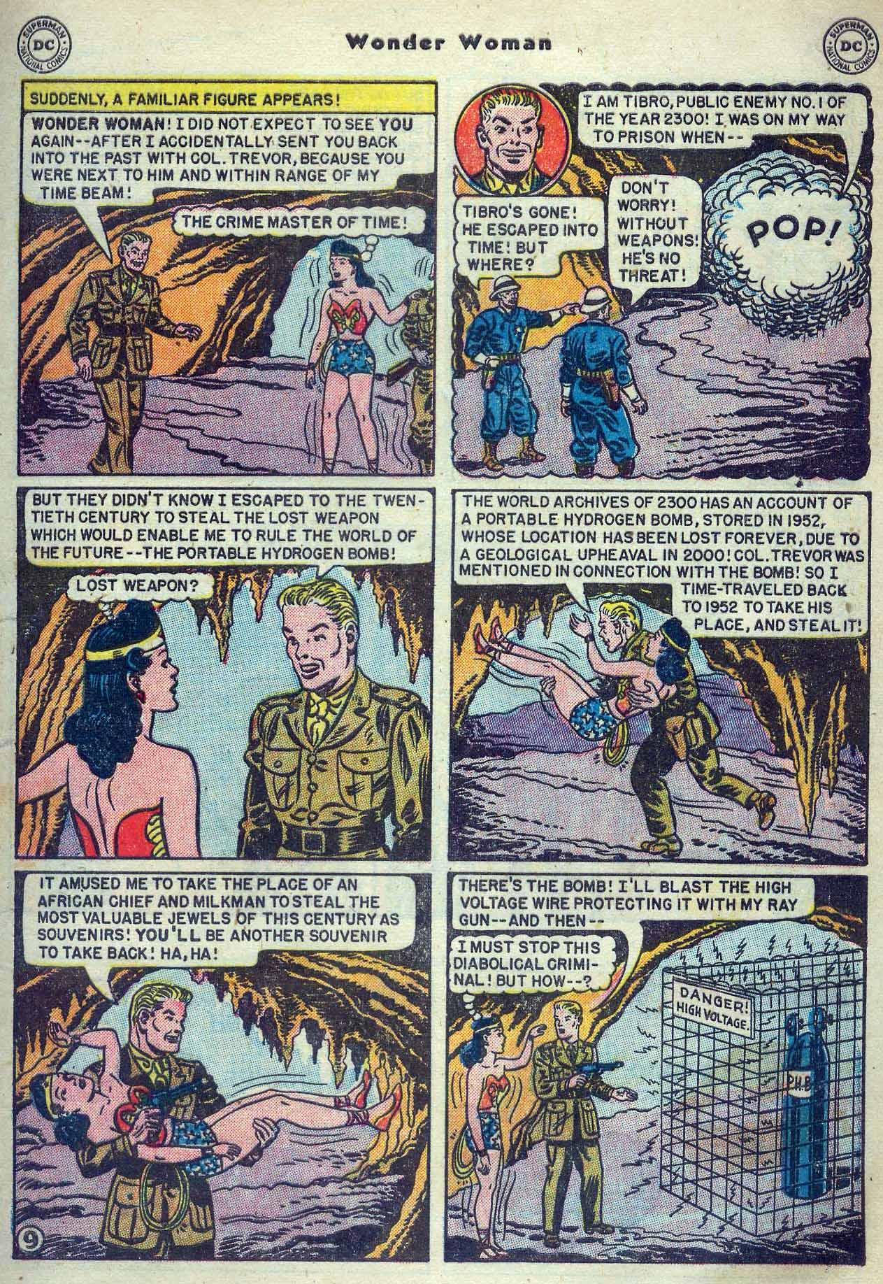 Read online Wonder Woman (1942) comic -  Issue #53 - 11