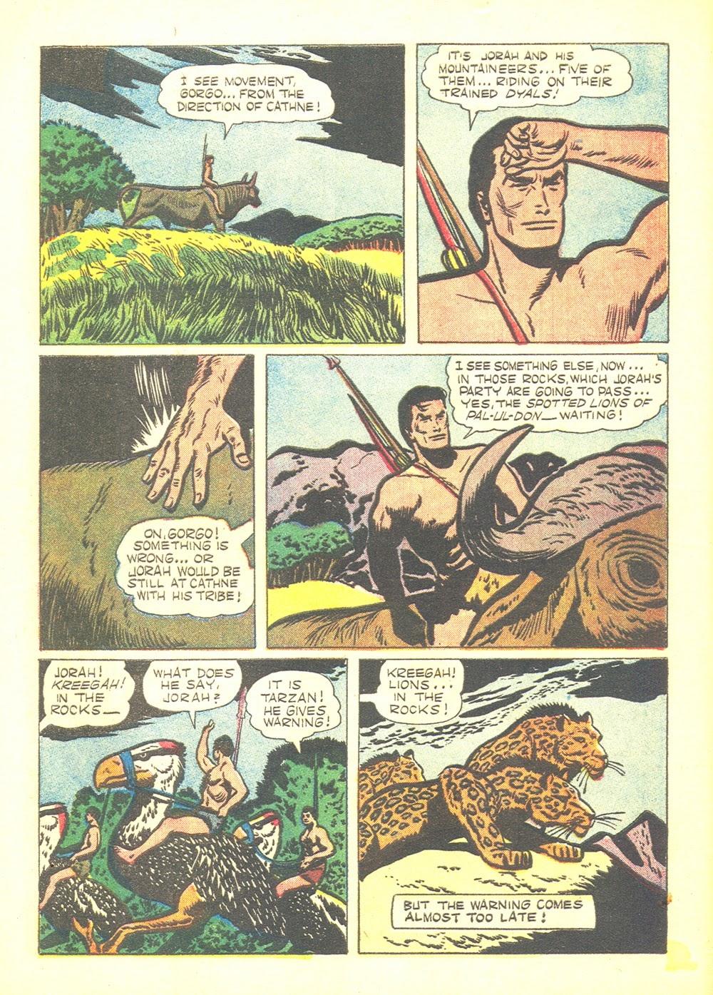 Tarzan (1948) issue 60 - Page 8