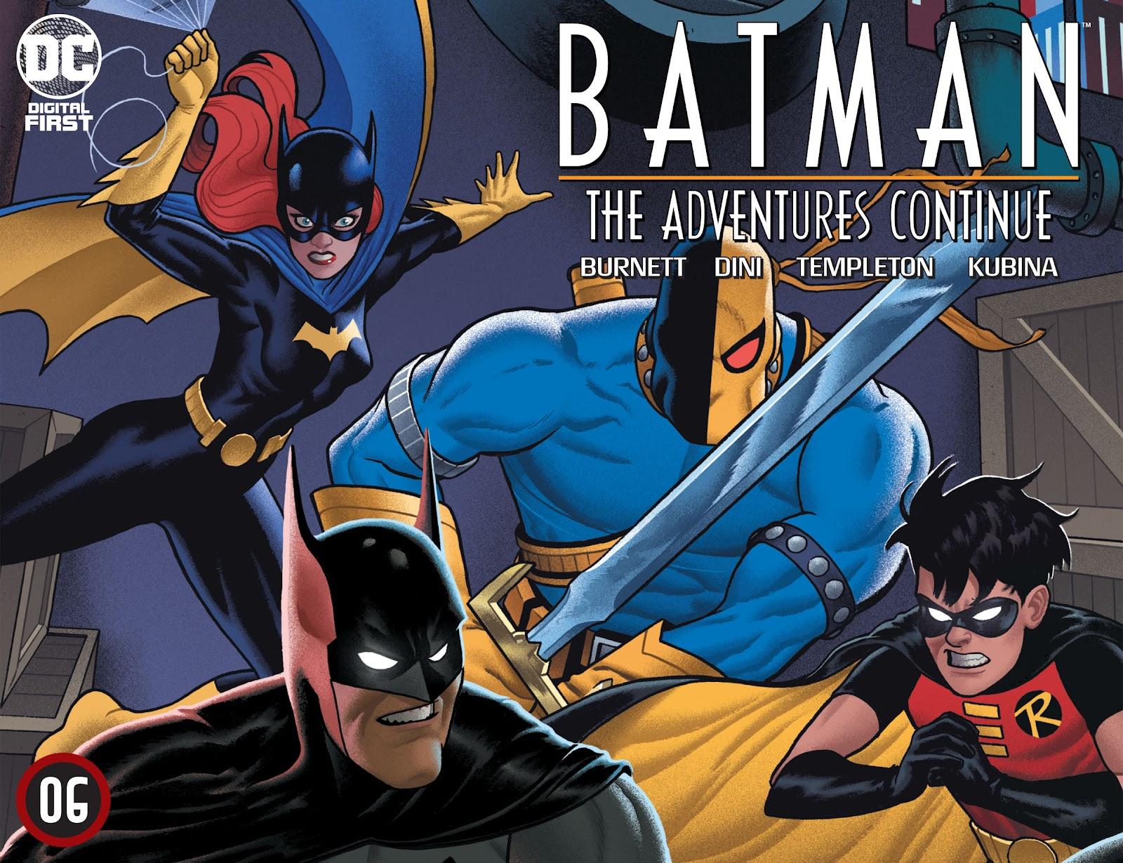Batman: The Adventures Continue 6 Page 1